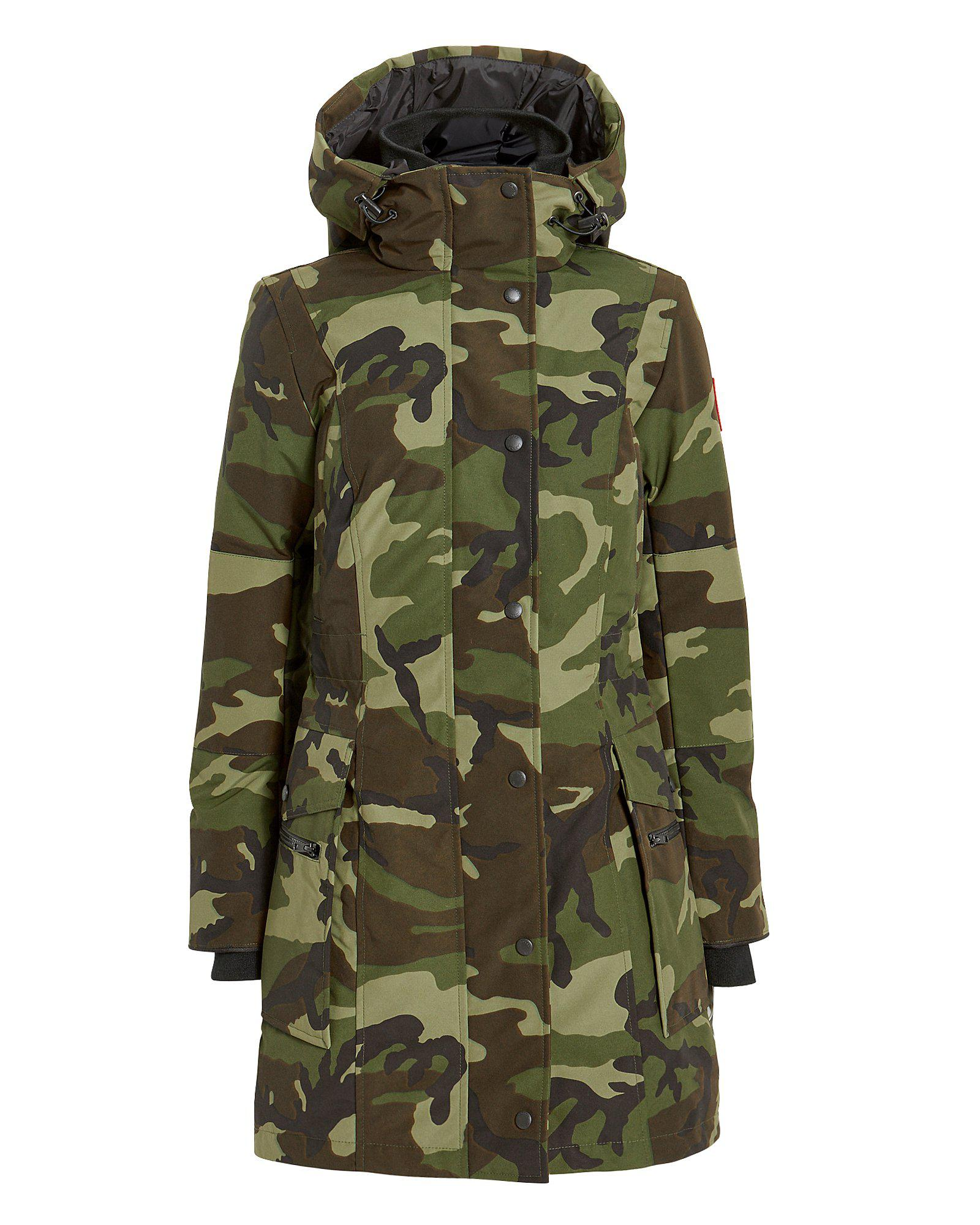 Lyst - Canada Goose Kinley Camouflage Down Parka in Green - Save 6% 956d5ba4f9
