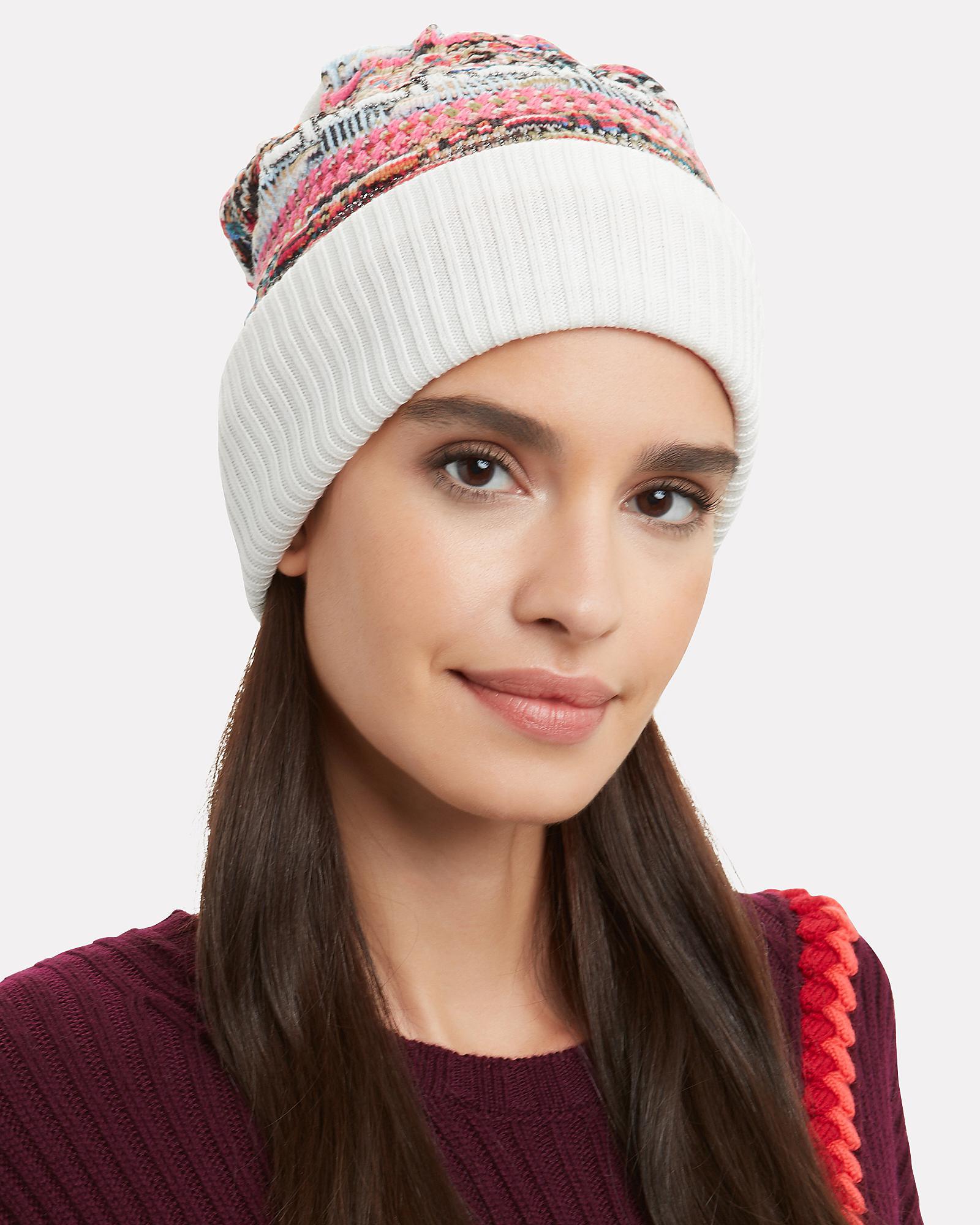 f50a101a289 Missoni - Multicolored Knit Hat - Lyst. View fullscreen