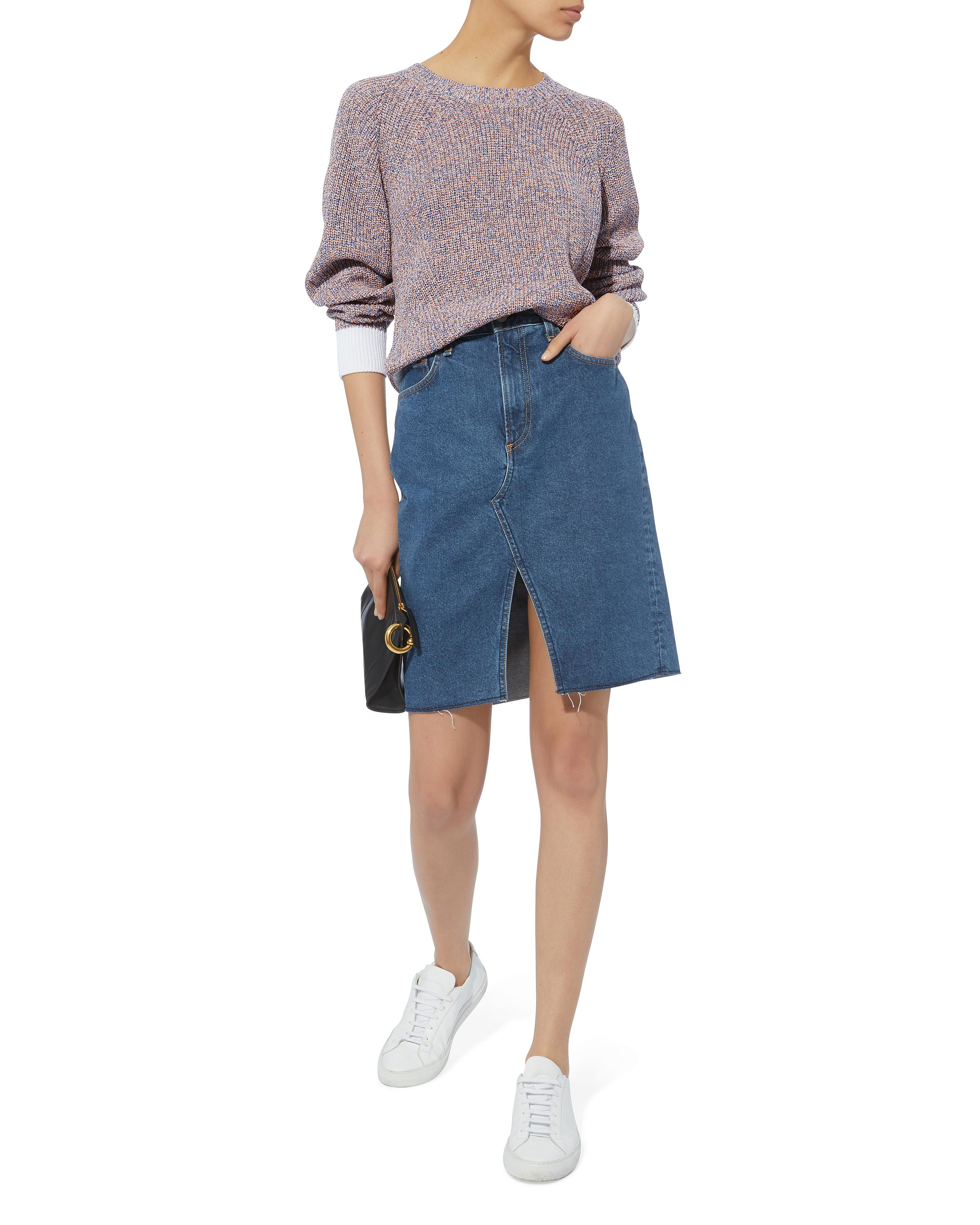 ef11c098b36b Lyst - Rag   Bone Suji Vintage Skirt in Blue