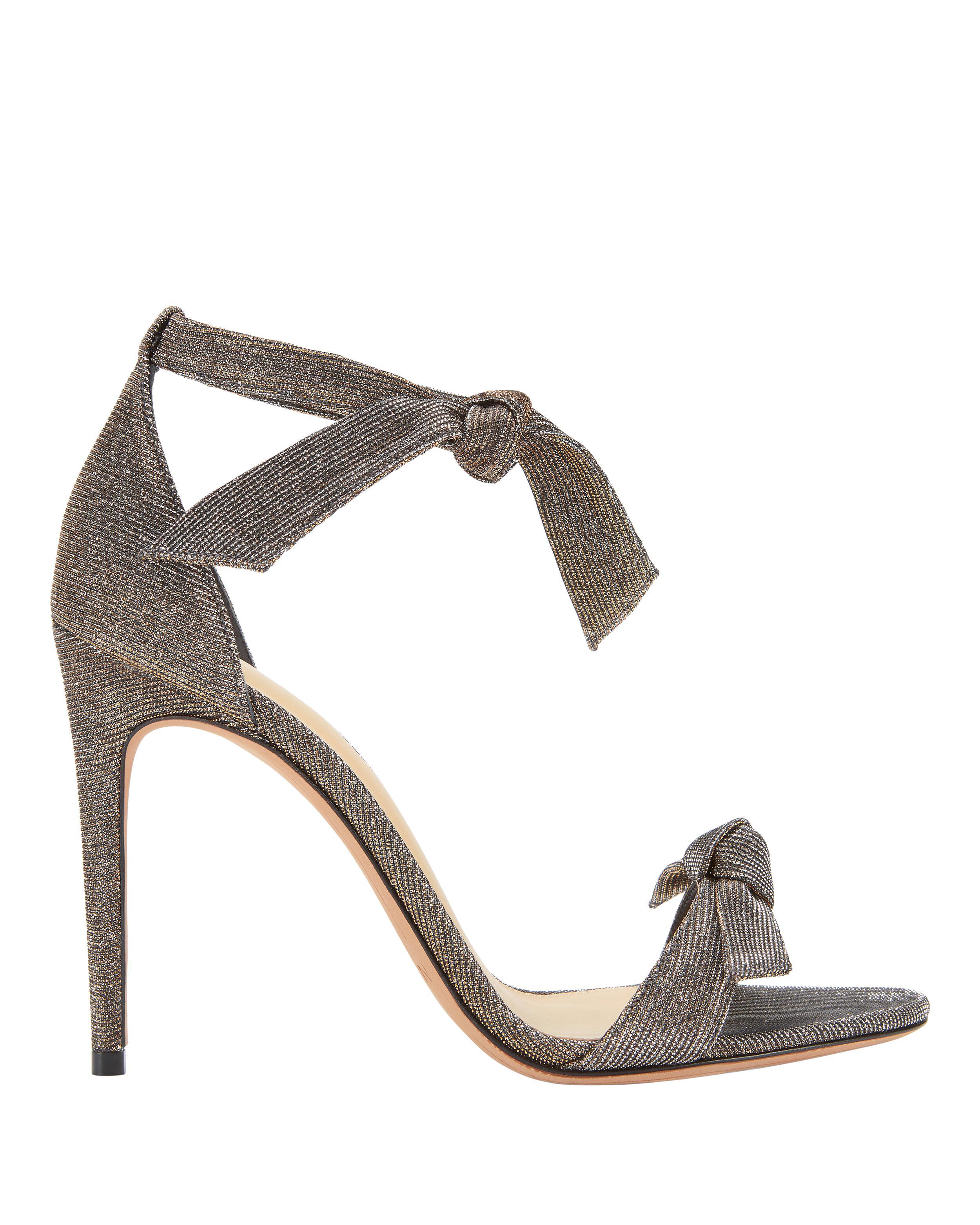 Bow Clarita Lyst Sandals Shimmer Dbxwreco Birman Alexandre Double oWrCBdxe