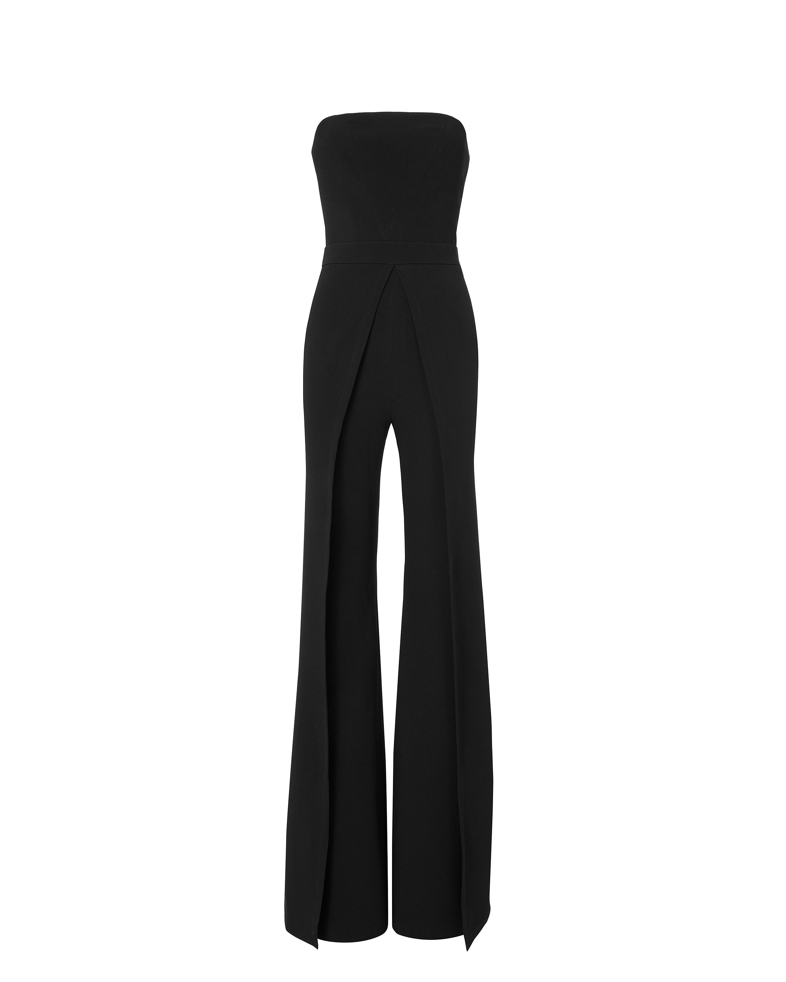 41d1e527827 Gallery. Previously sold at  INTERMIX · Women s Black Overalls ...