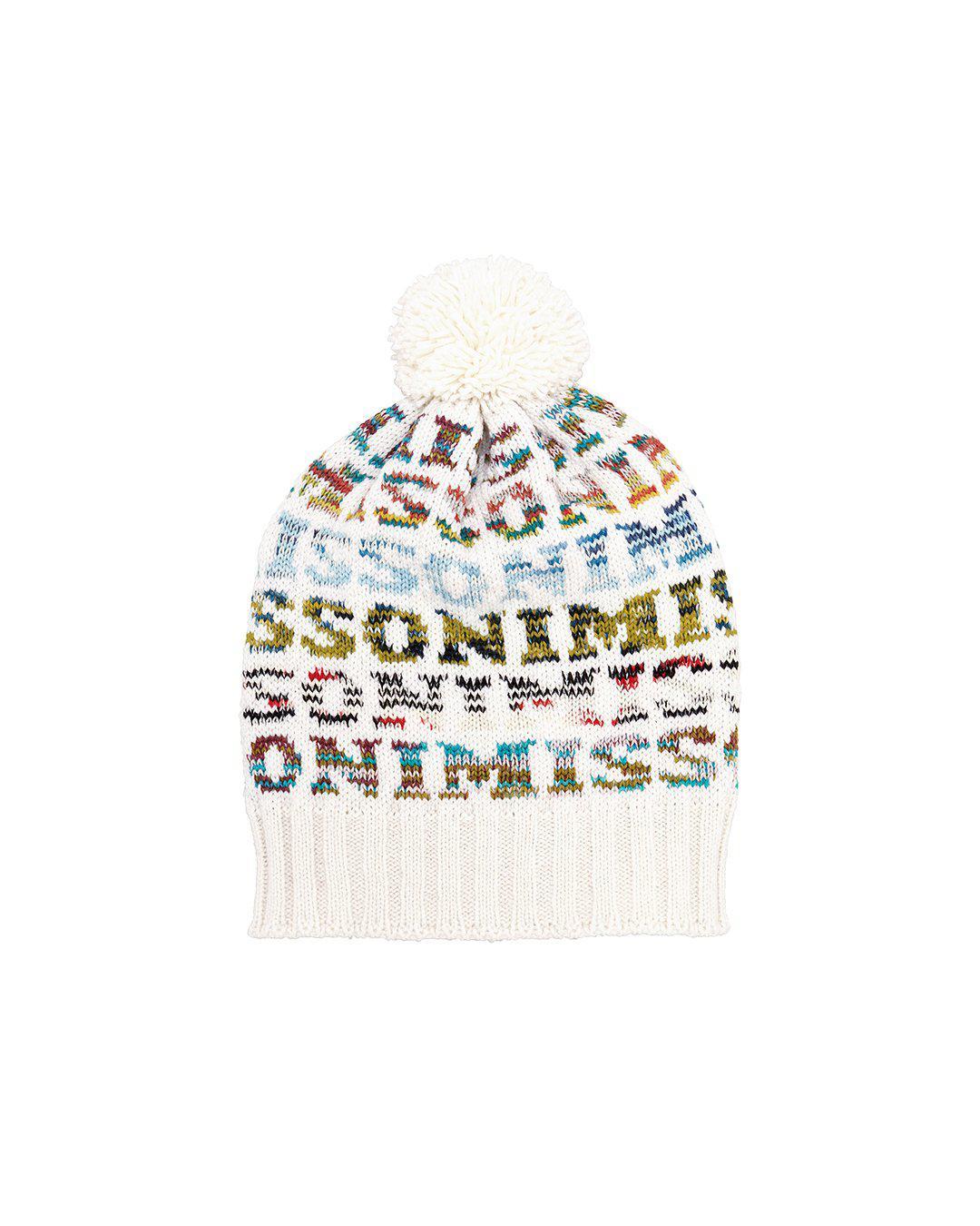 685050024f1 Missoni - Multicolor Pom Top Logo Hat - Lyst. View fullscreen