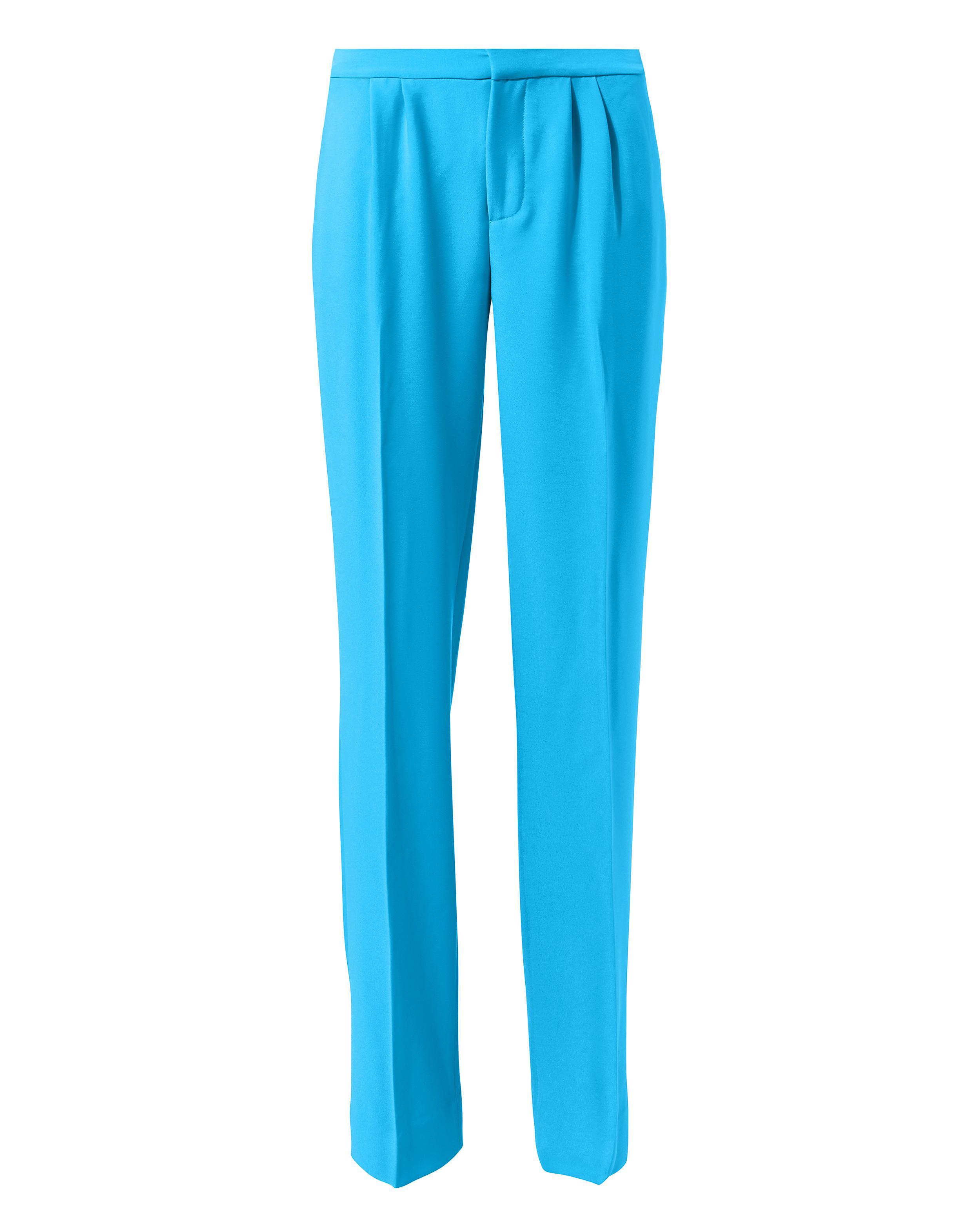 Lyst Frame Malibu Blue Trousers in Blue