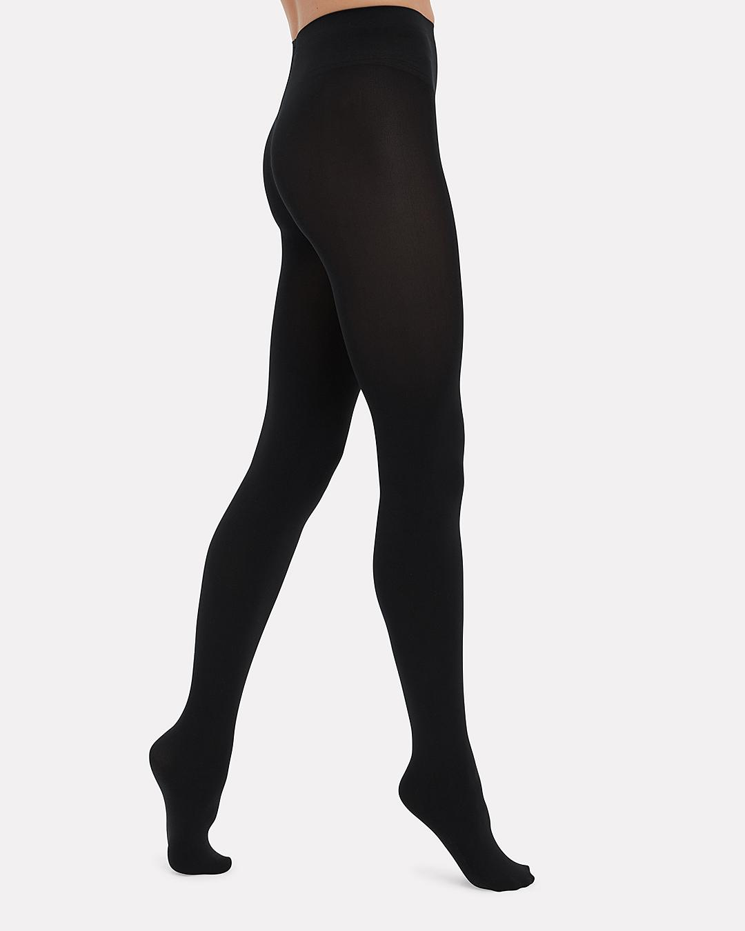 4977d0994fe Lyst - Wolford Matte Opaque Tights in Black