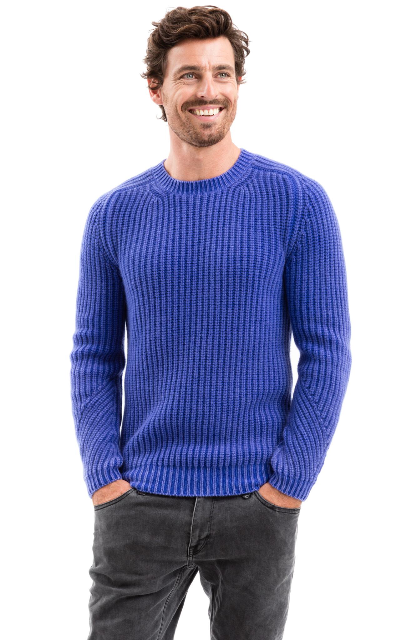 iris von arnim pullover cooper in blue for men lyst. Black Bedroom Furniture Sets. Home Design Ideas