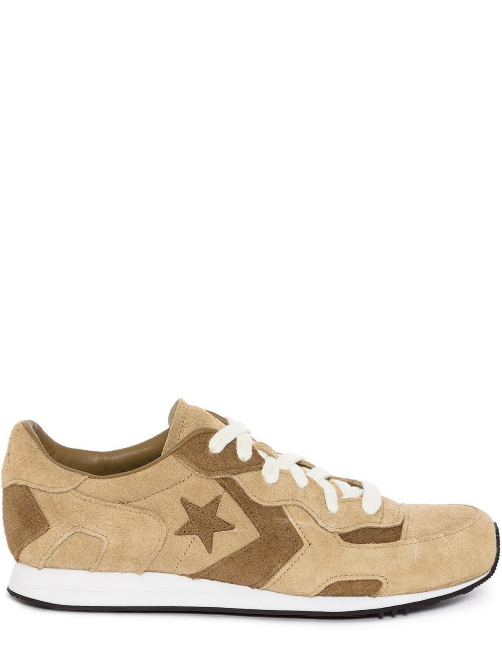 453310a8c7a0 JW Anderson Men Gold Suede Thunderbolt Converse in Metallic for Men ...