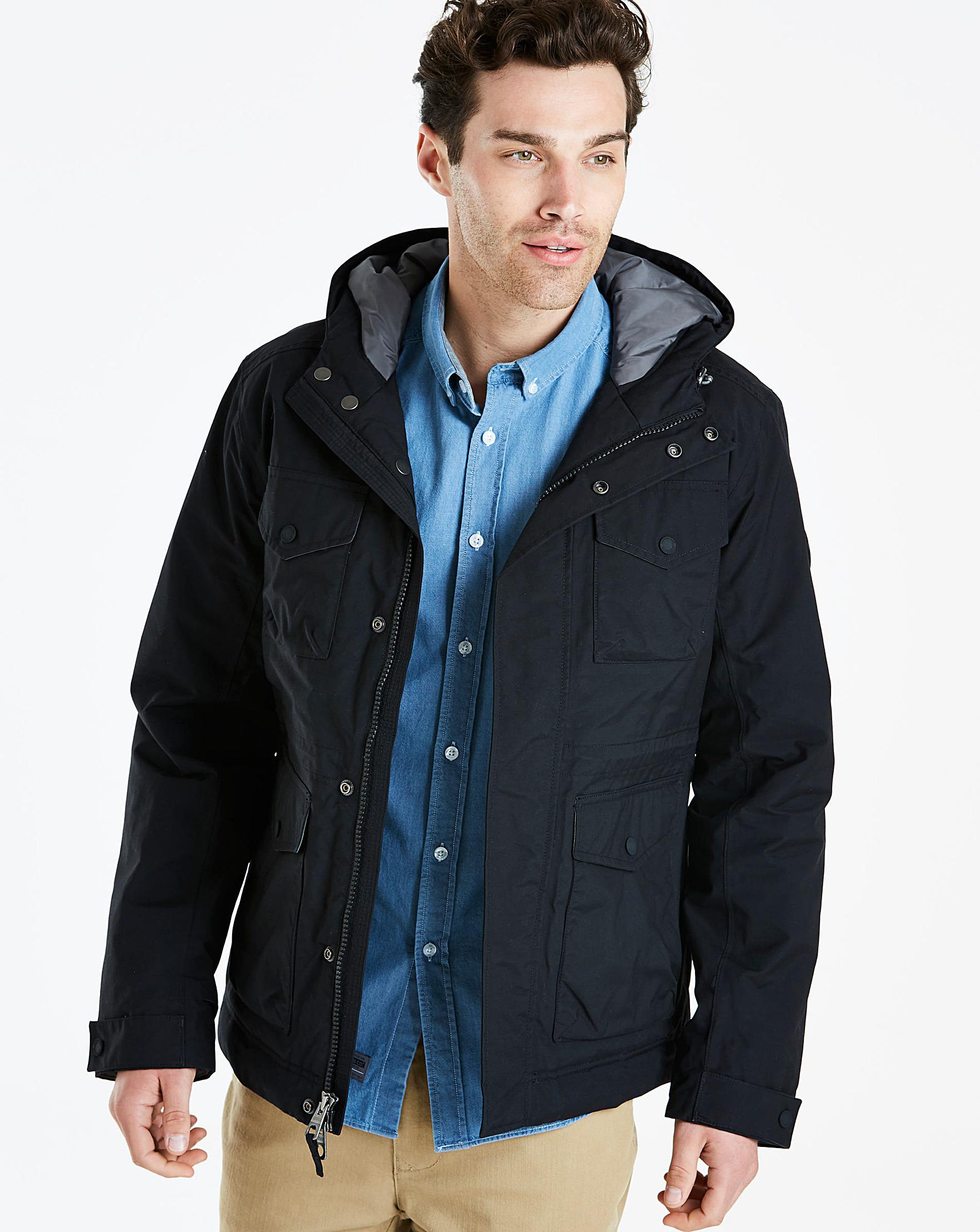 Timberland Isolation Cruiser Jacket in Black for Men - Lyst 2f8fa5c61e