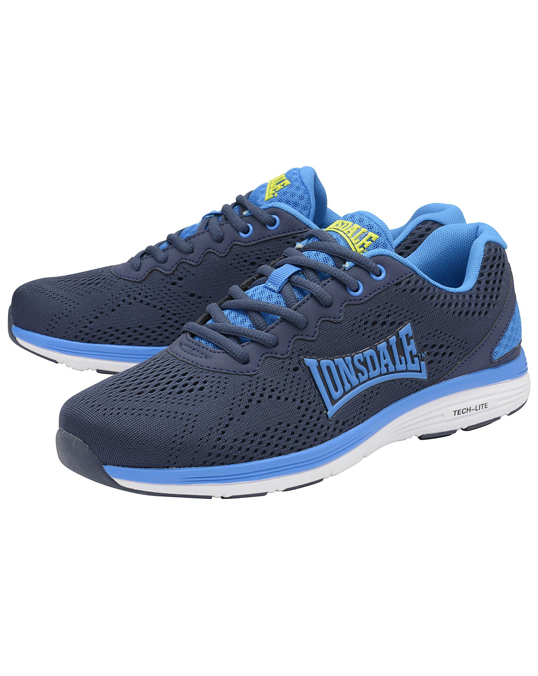 cheap sale store Navy 'Lisala' mens lace up sports trainers cheap price outlet store cheap online 7jODvUoM