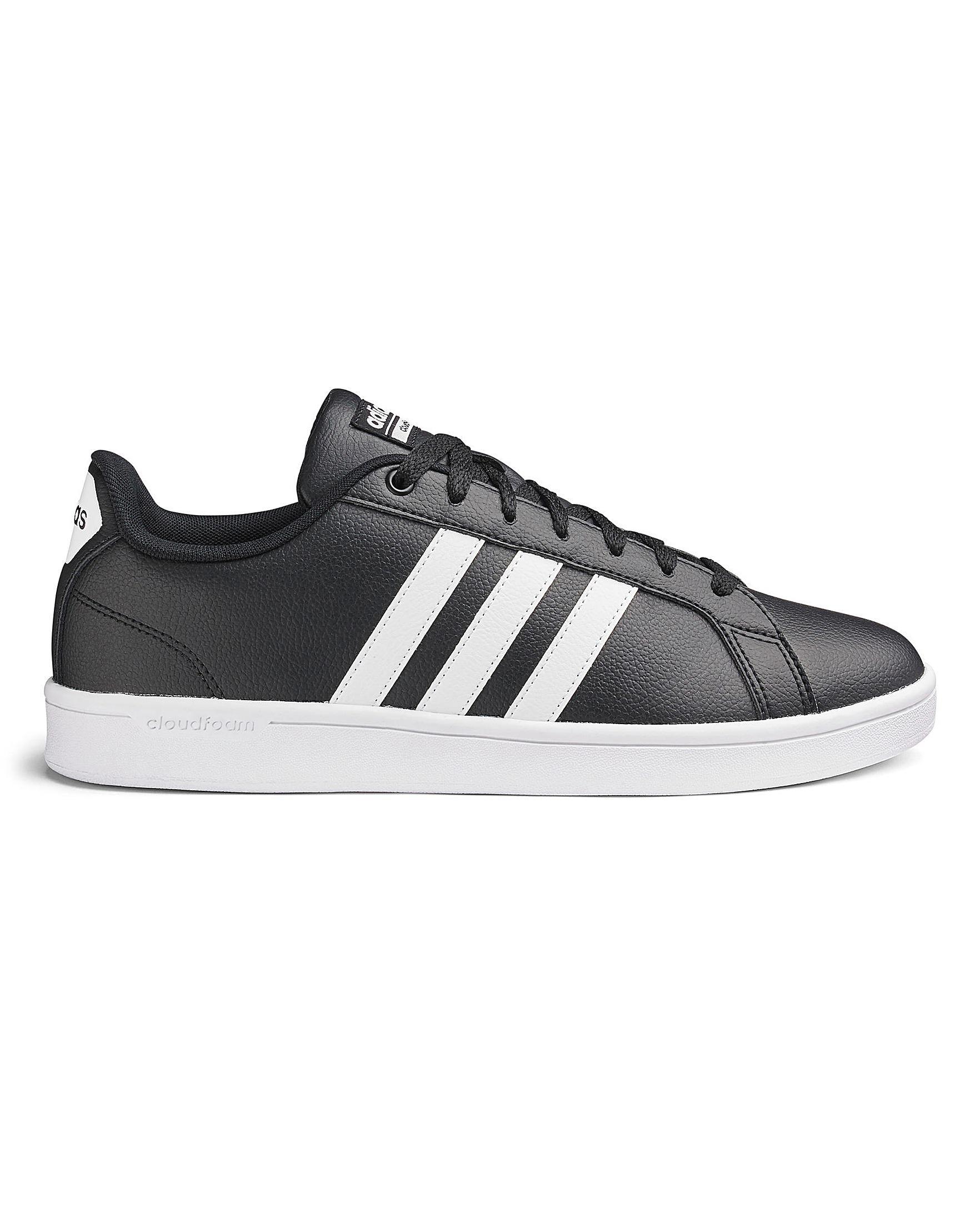 Adidas Cloudfoam Advantage Trainers in Black for Men - Lyst 165c0702d