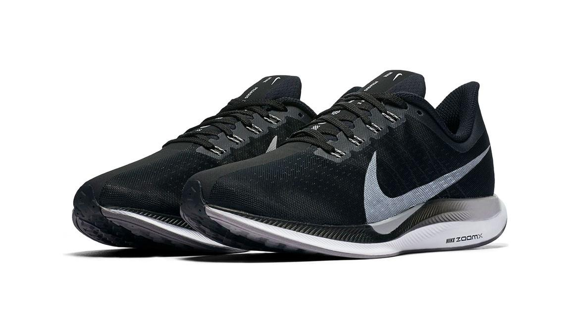 18b16dbbfb16 Nike - Black Zoom Pegasus 35 Turbo Running Shoe for Men - Lyst. View  fullscreen