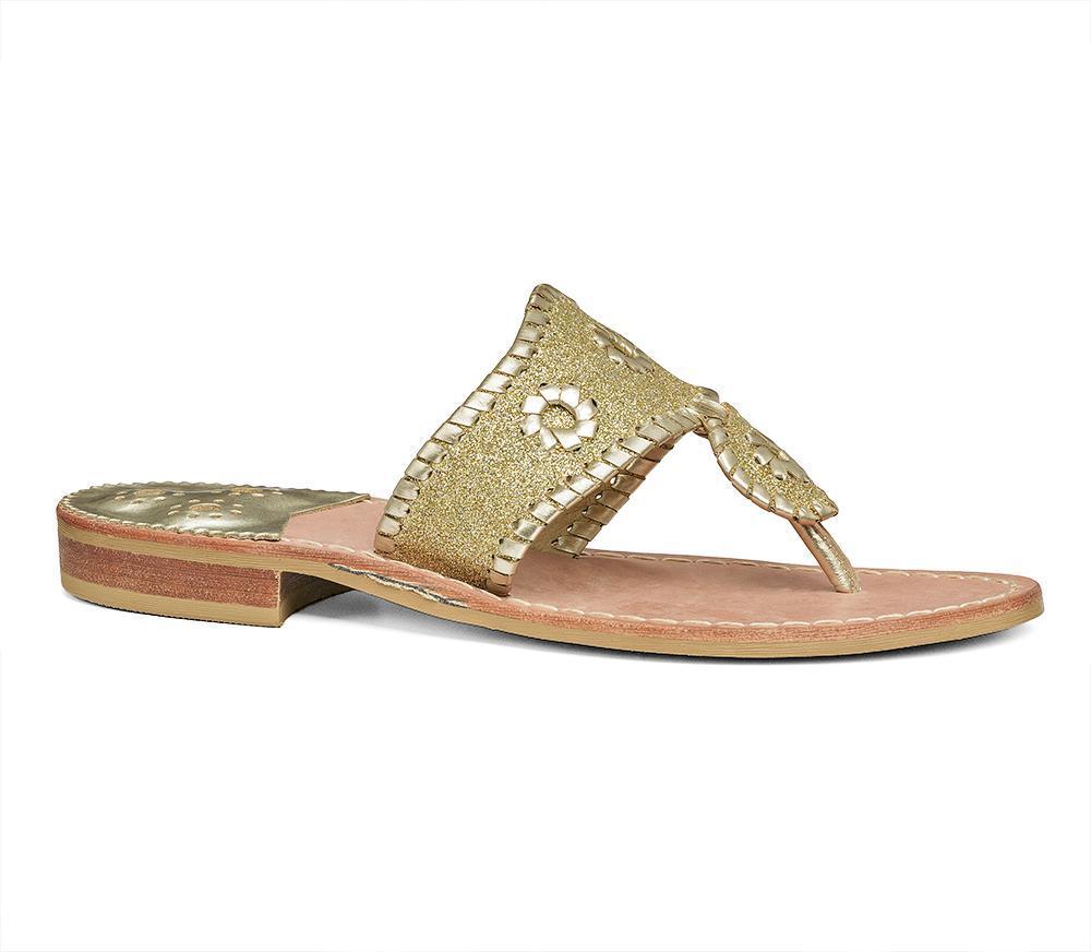 5b1c37c3c1df Lyst - Jack Rogers Sparkle Sandal in Metallic