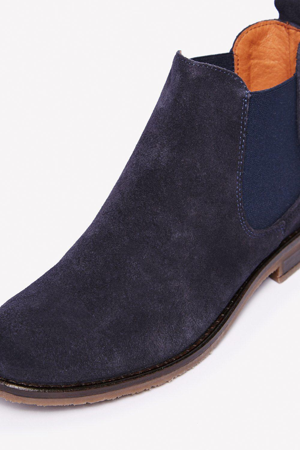 d2855047ff8c7 Jack Wills Sharnbrook Suede Chelsea Boots in Blue for Men - Lyst
