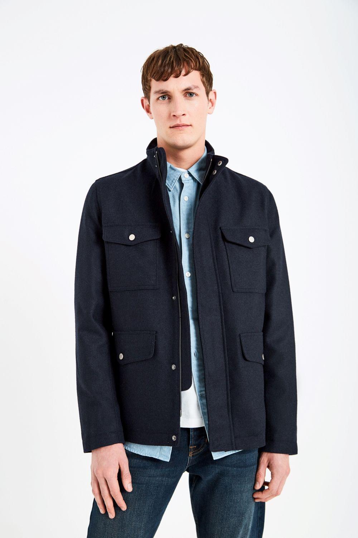 Jack Wills Navy Coat