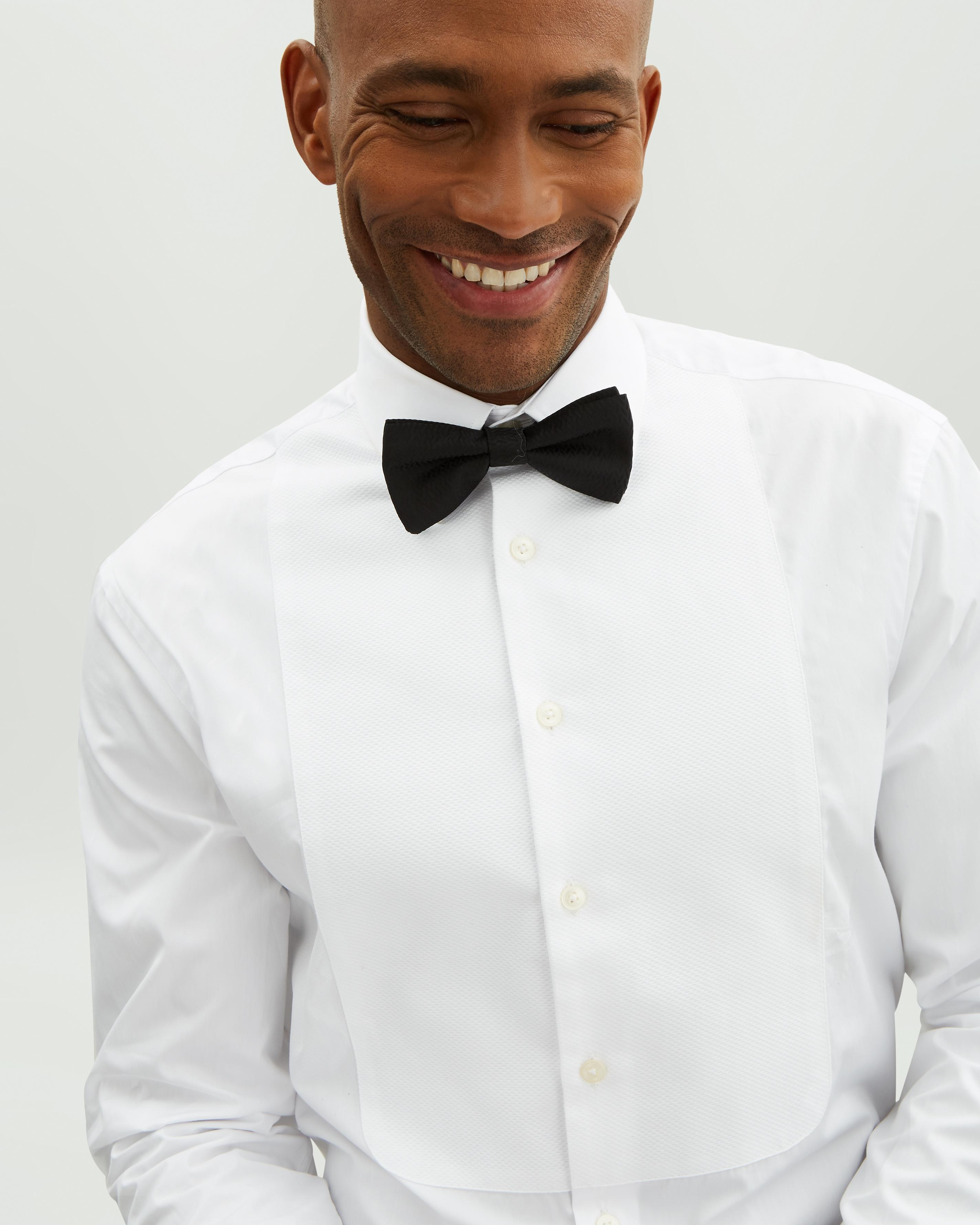 561ce49b41a Jaeger - White Cotton Evening Marcella Regular Bib Shirt for Men - Lyst.  View fullscreen