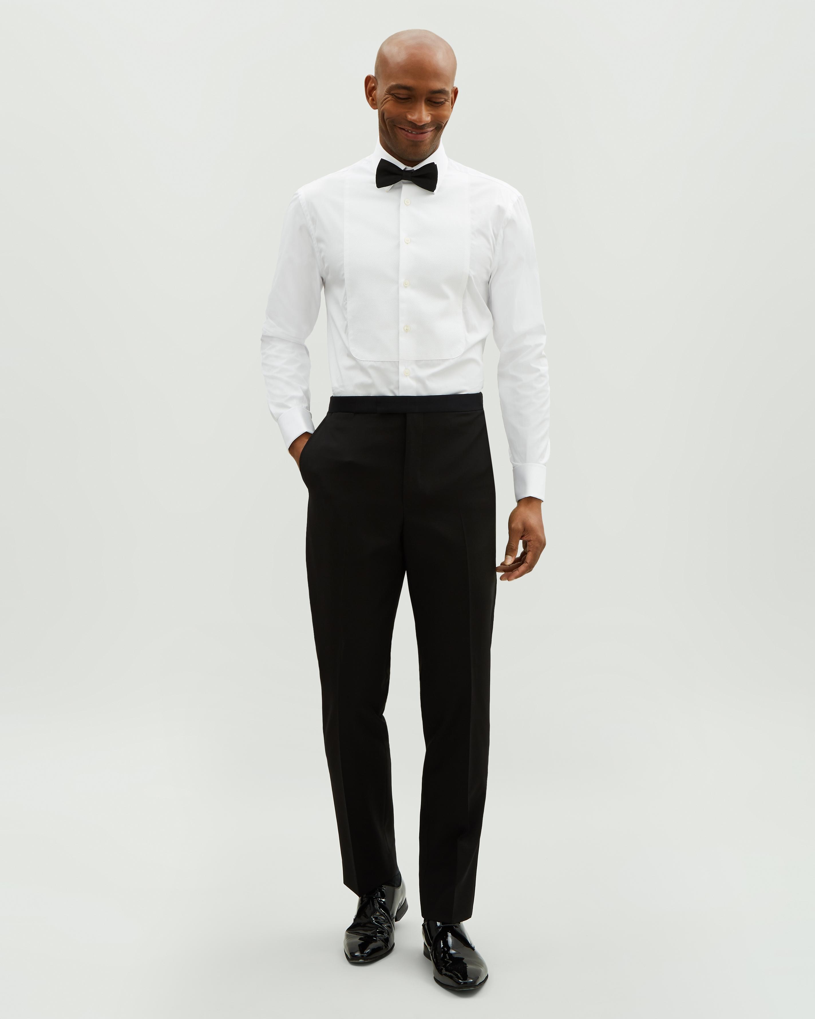 6d716a40559 Jaeger Cotton Evening Marcella Regular Bib Shirt in White for Men - Save  38% - Lyst
