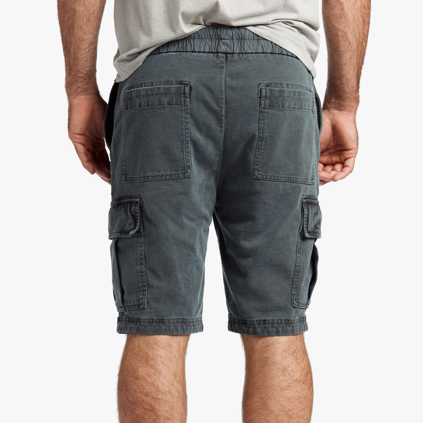 Cotton-jersey Drawstring Cargo Shorts James Perse 6z3YiP