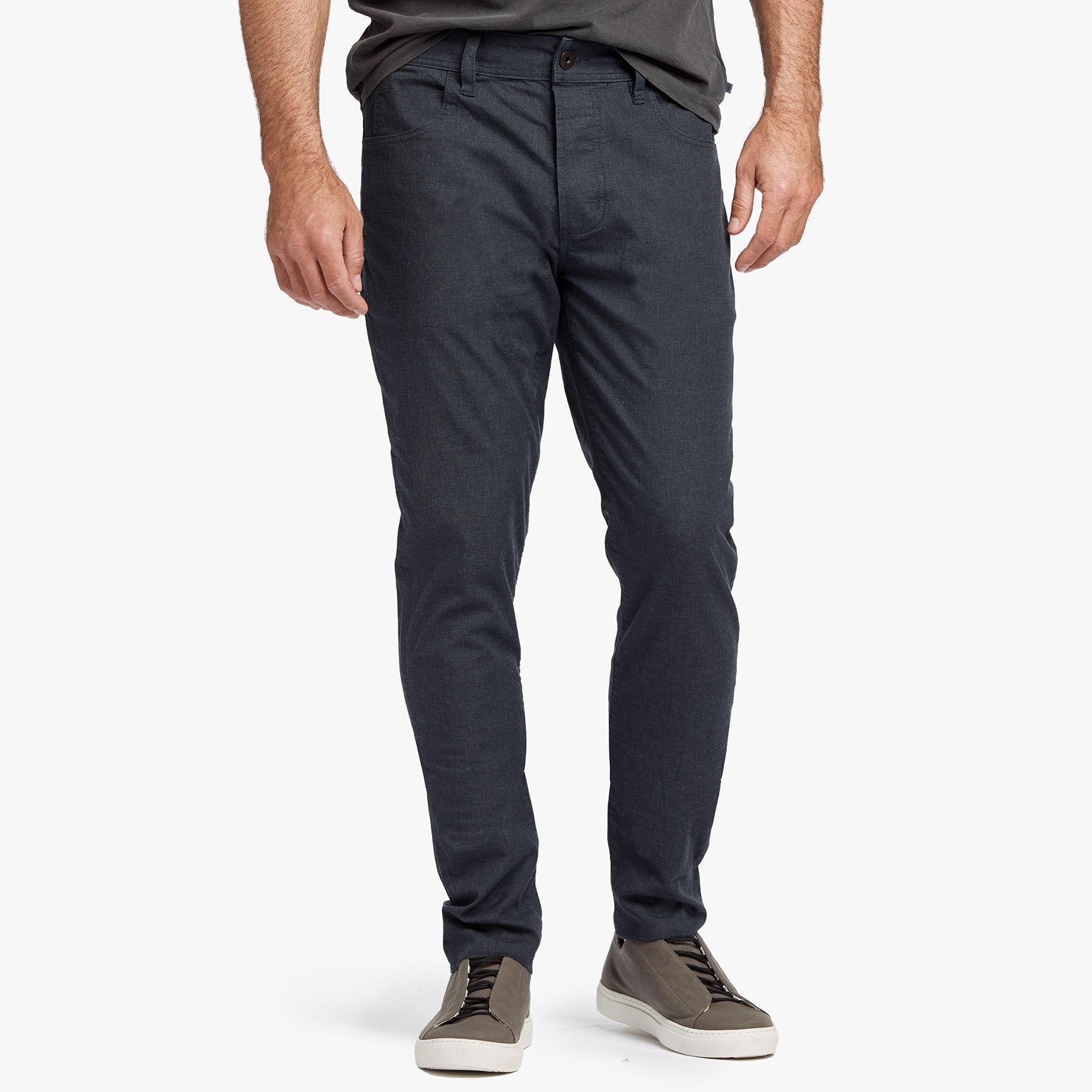 c919d6a5873e James Perse Cotton Canvas 5-pocket Pant in Blue for Men - Lyst