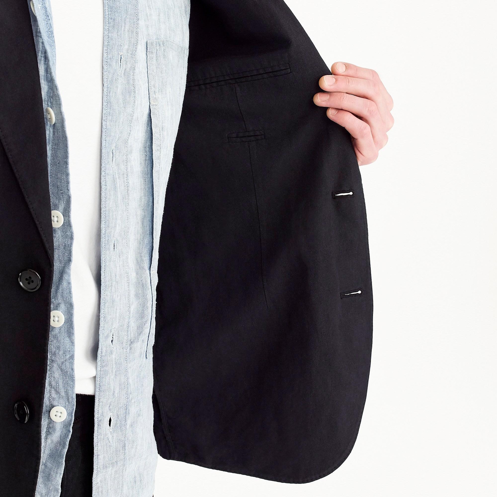 94684c64311a J.Crew Unstructured Slim-fit Ludlow Blazer In Garment-dyed Cotton ...