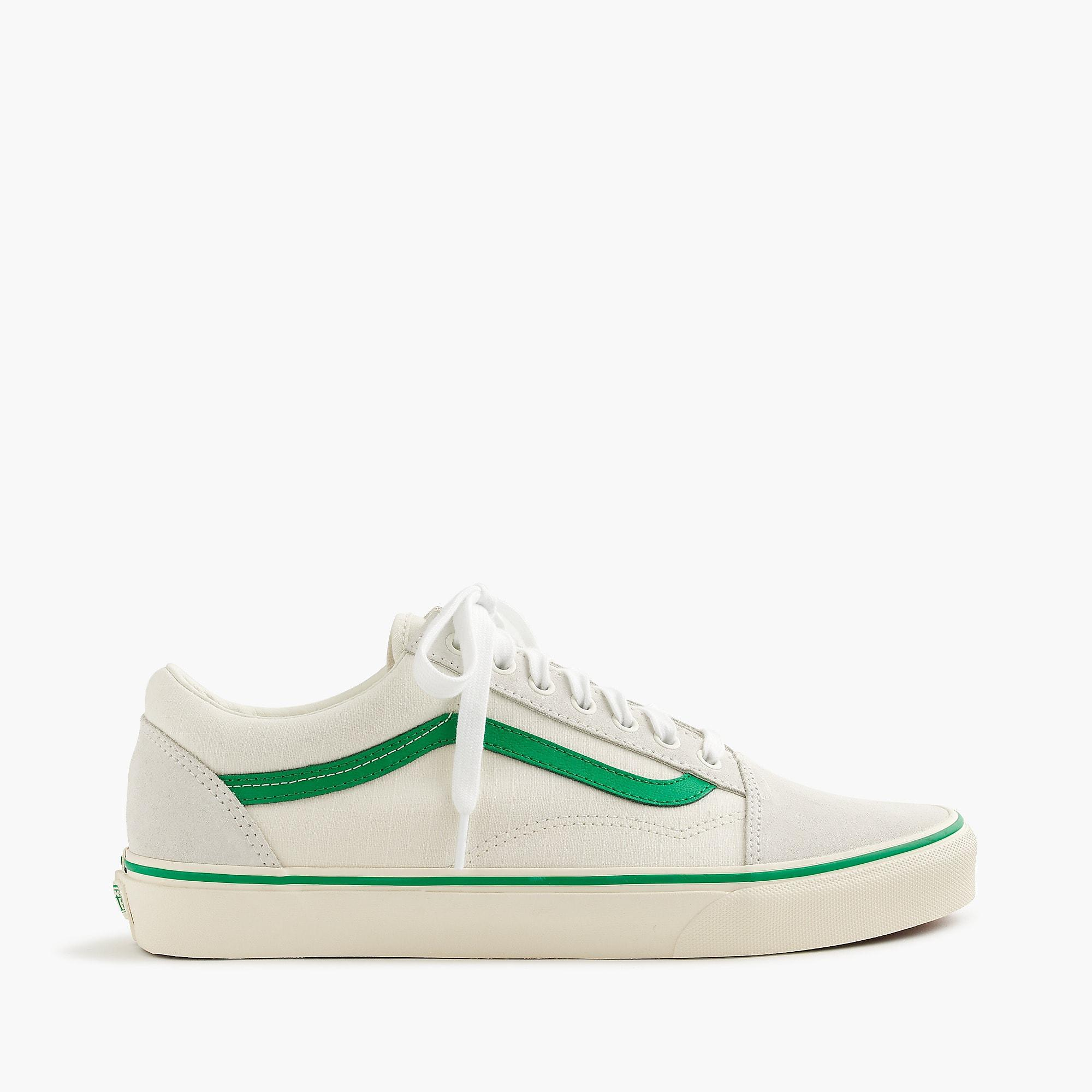 Lyst - Vans Old Skool Sneakers In Ripstop Cotton in Green for Men 558793febd