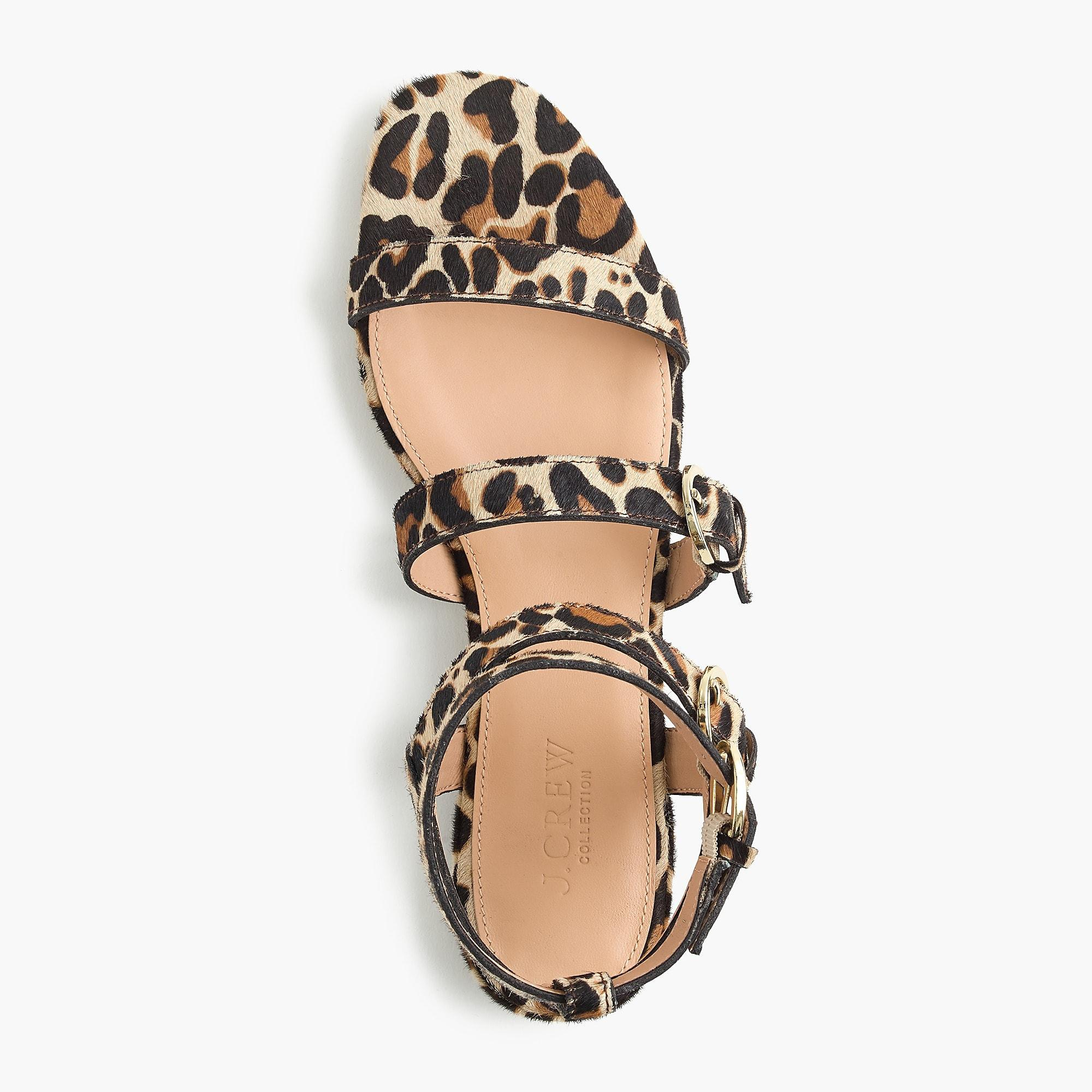 e80f6e1e2a1f J.Crew Buckled Gladiator Sandals - Lyst