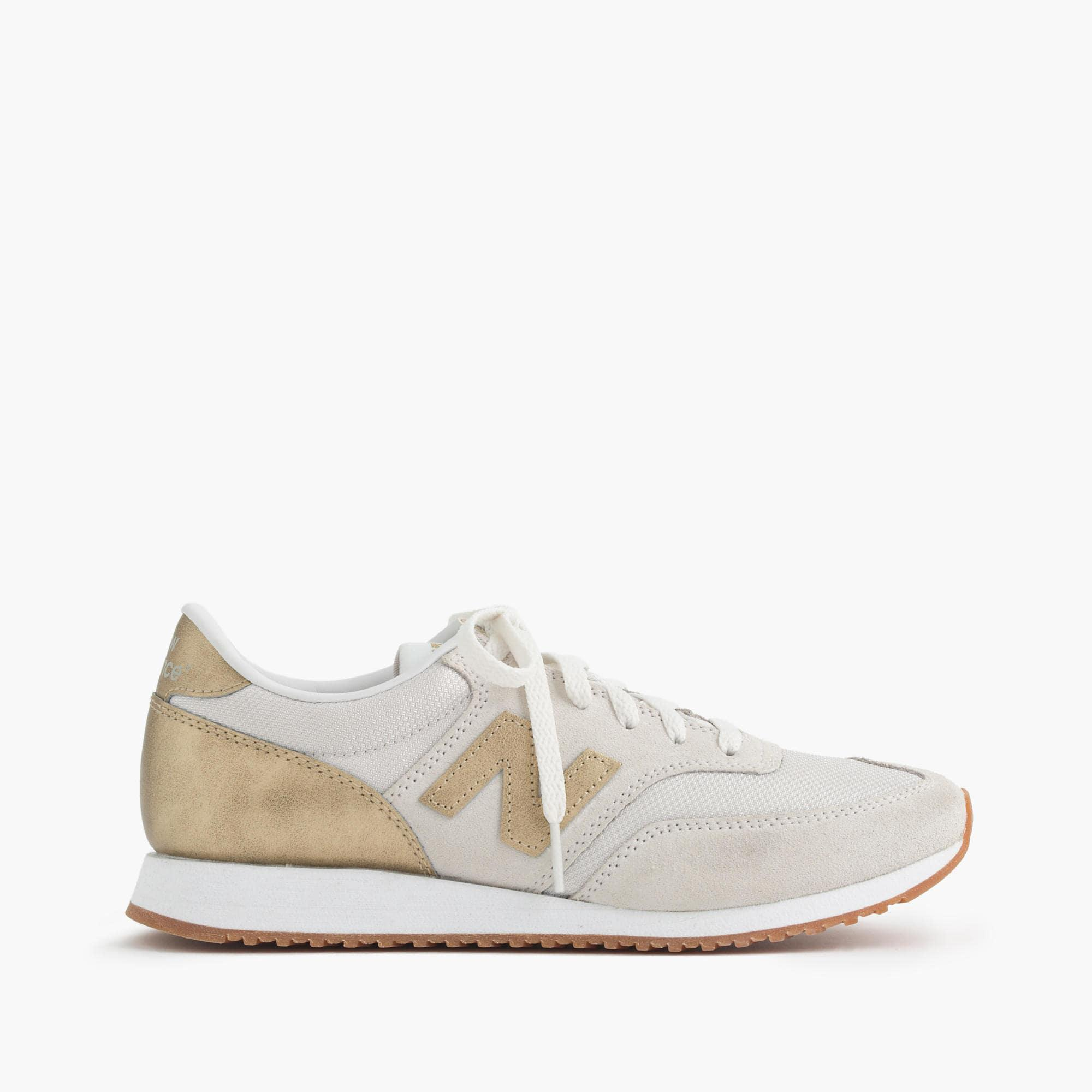 ae4d772e9c77 ... where to buy lyst j.crew new balance suede mesh and leather 620 sneakers  in