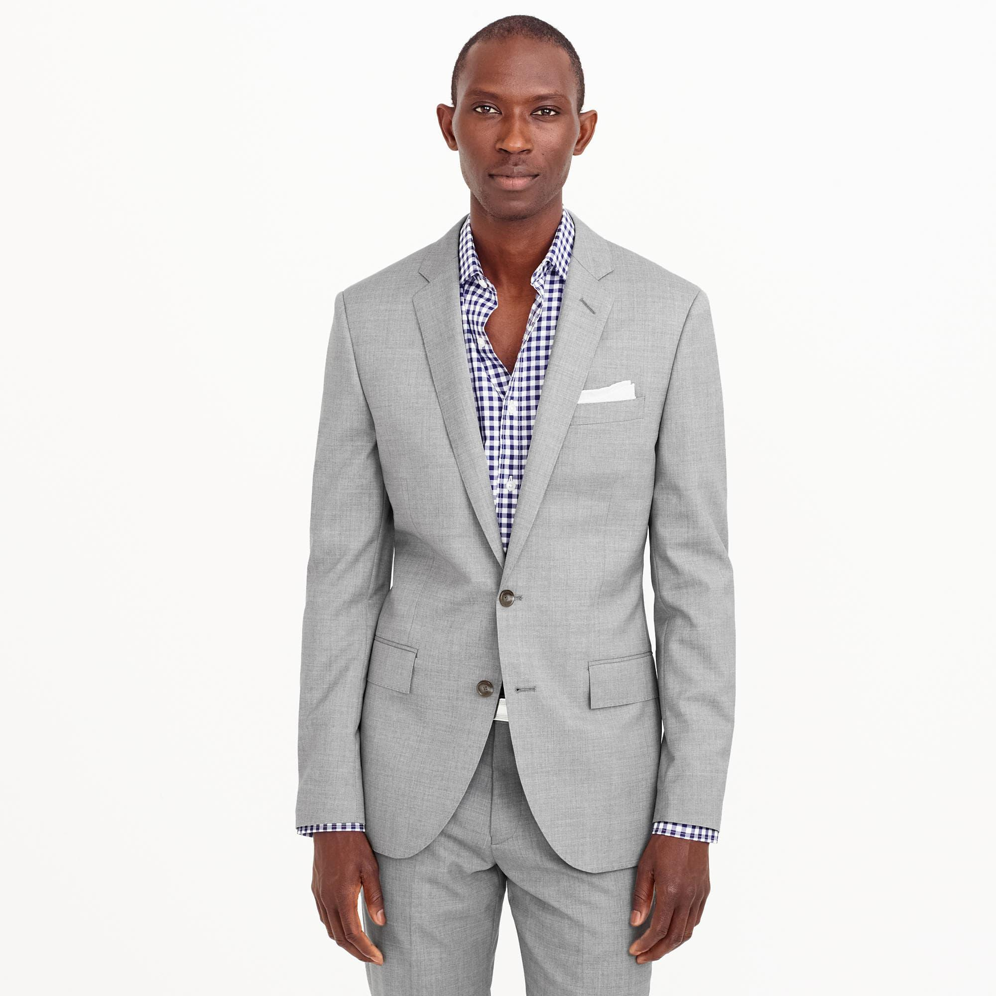 f357e52ca10 Lyst - J.Crew Ludlow Suit Jacket With Double Vent In Italian Wool in ...
