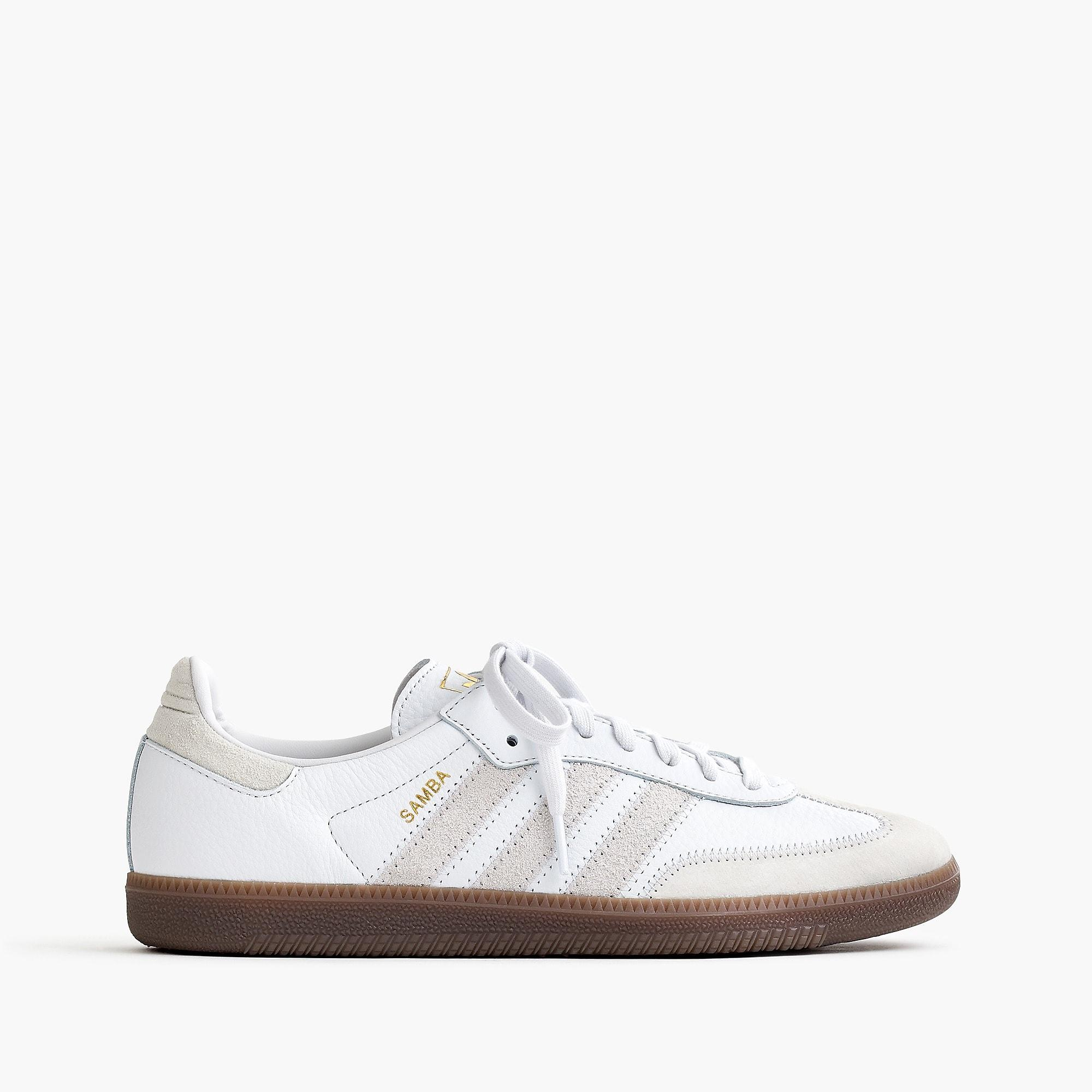 new product e3c4e 1ba1d adidas. Men s White Samba Sneakers.  80 From J.Crew