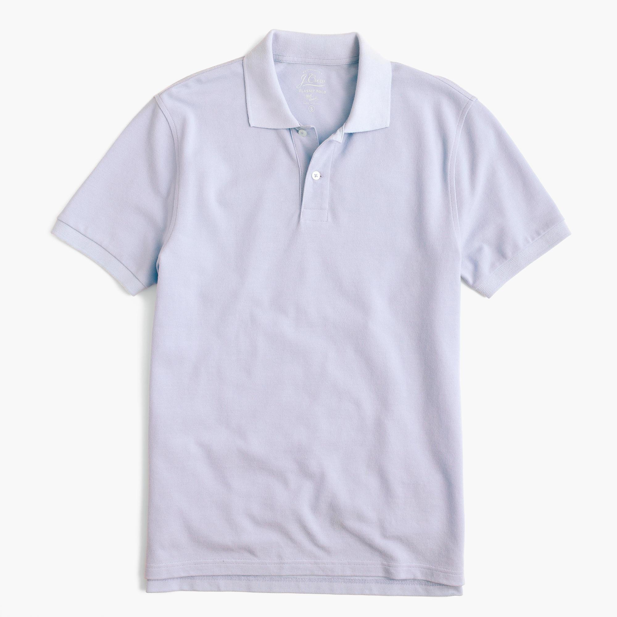 768c83a22 Lyst - J.Crew Classic Piqué Polo Shirt for Men