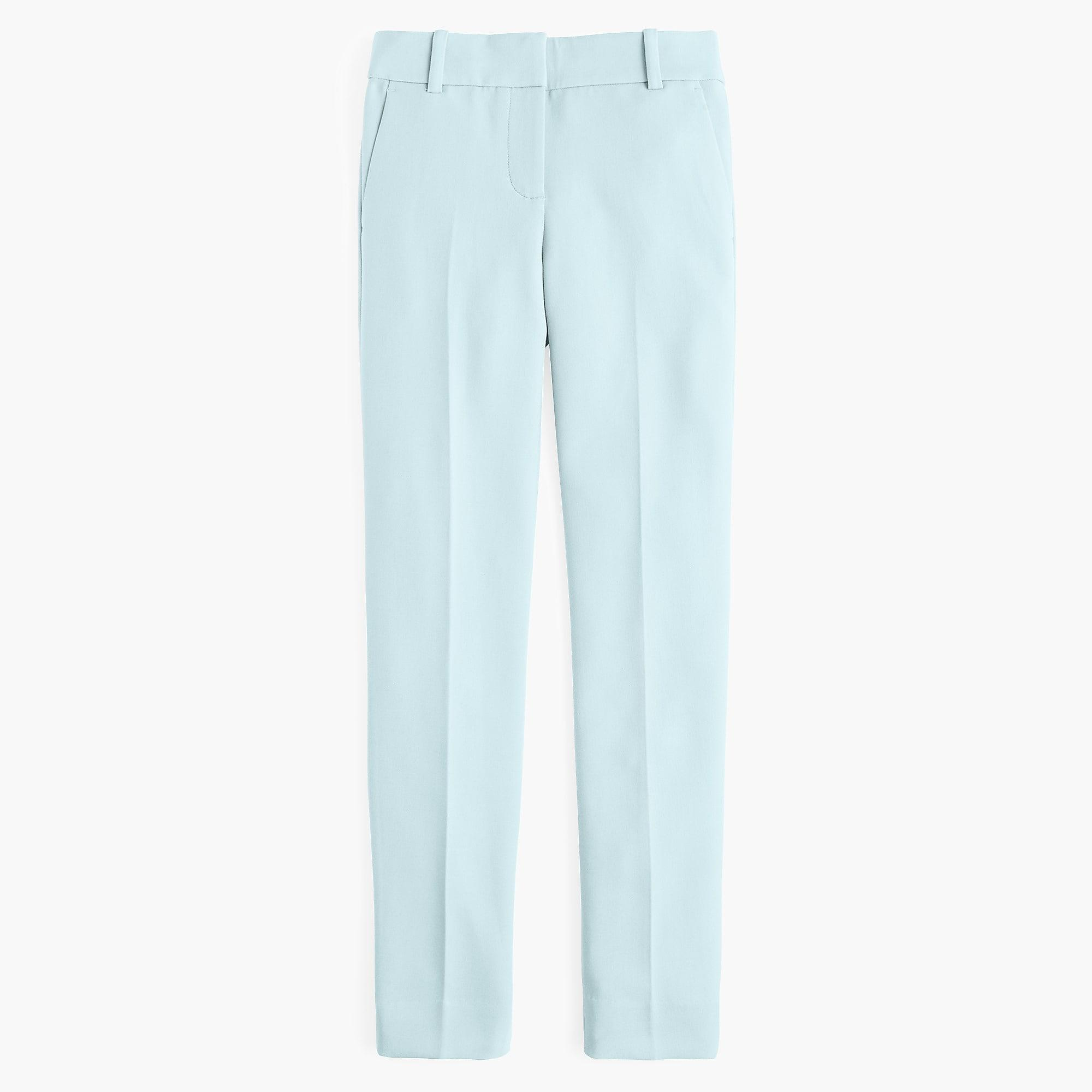 8eb2c7adcc6 J.Crew. Women s Blue Petite Cameron Slim Crop Pant In Four-season Stretch