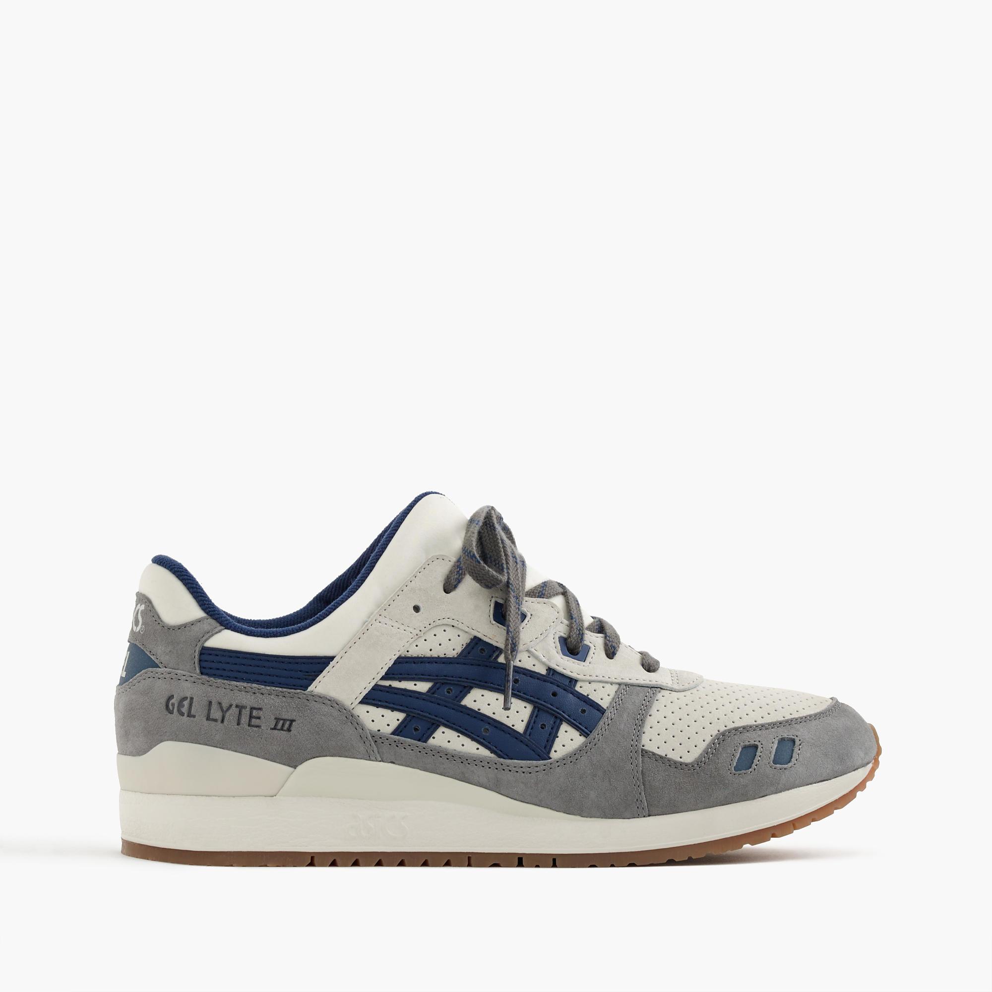 J Crew Asics Gel Lyte Iii Sneakers In Brown For Men Lyst