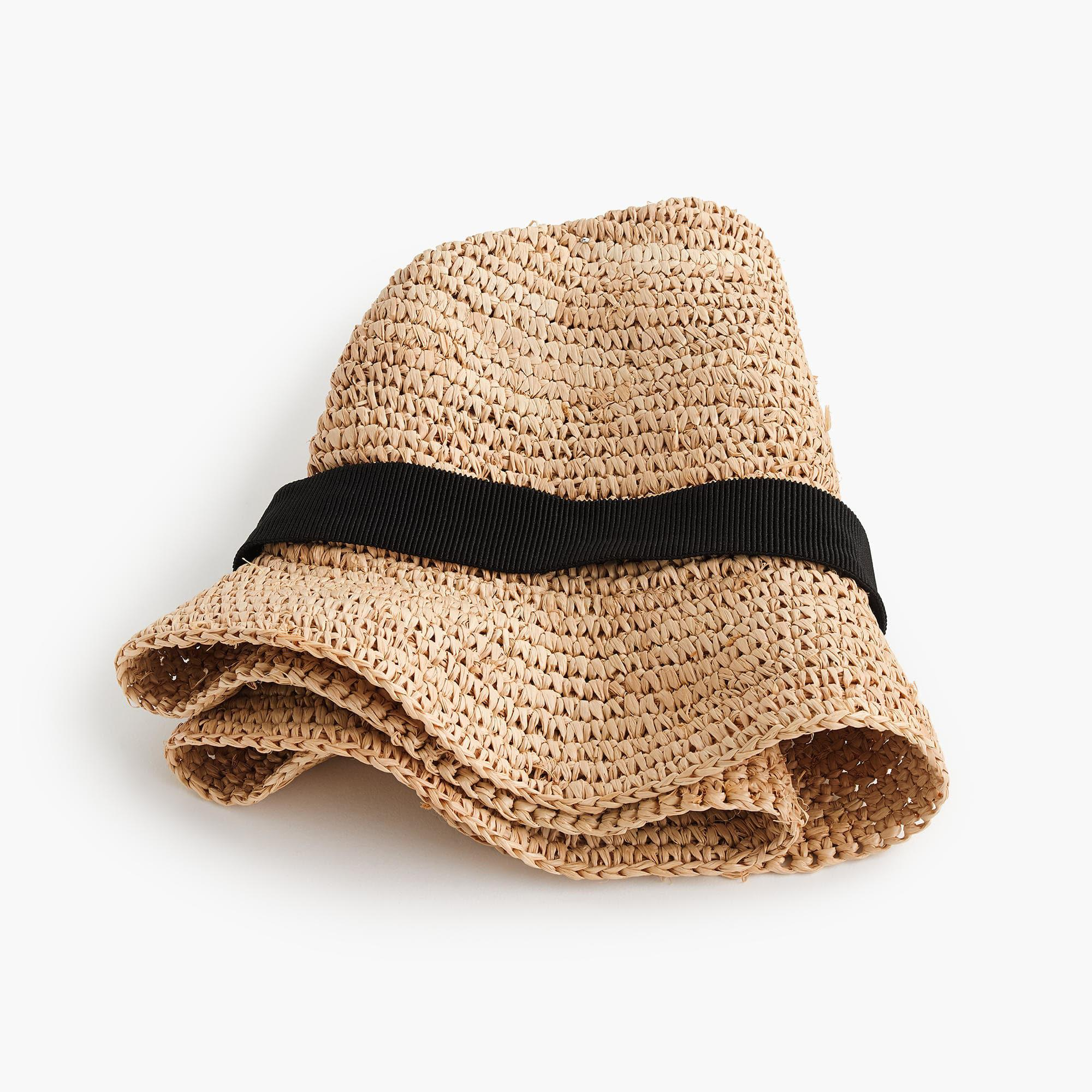 51af3af0181 ... Natural Packable Straw Hat - Lyst. View fullscreen