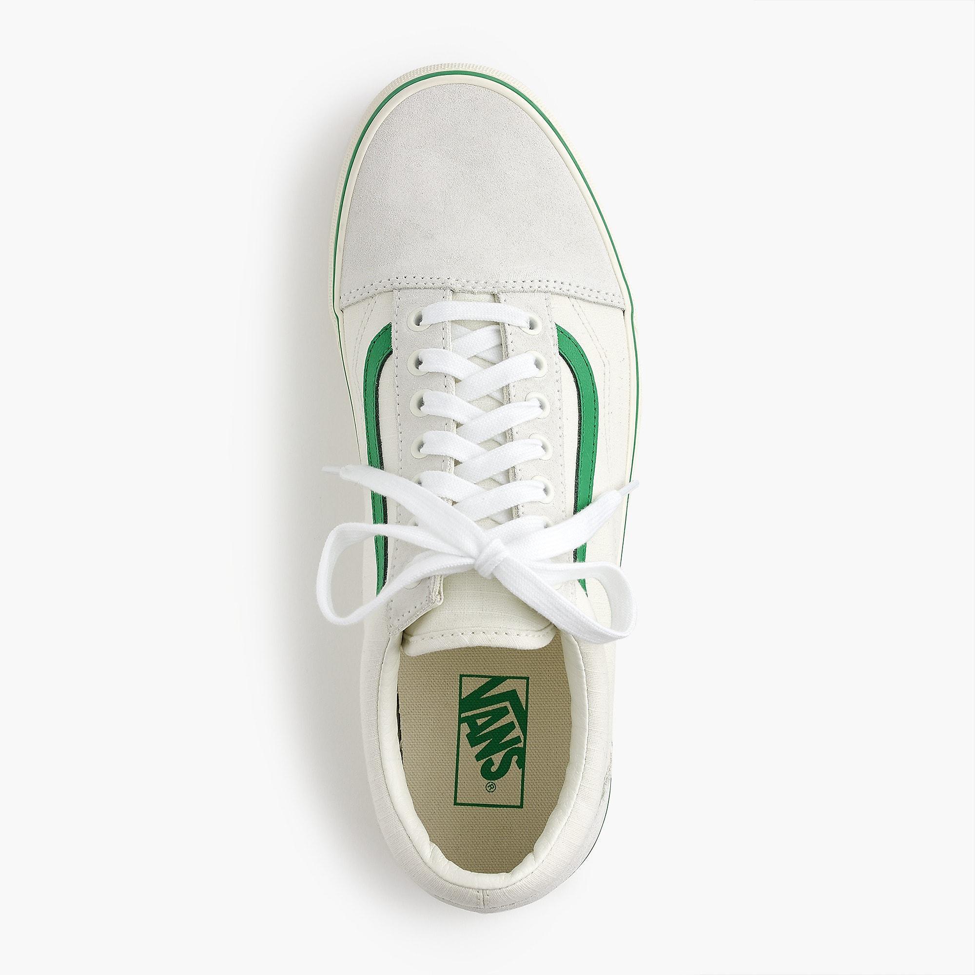 cea254801a Lyst - Vans Old Skool Sneakers In Ripstop Cotton in Green for Men