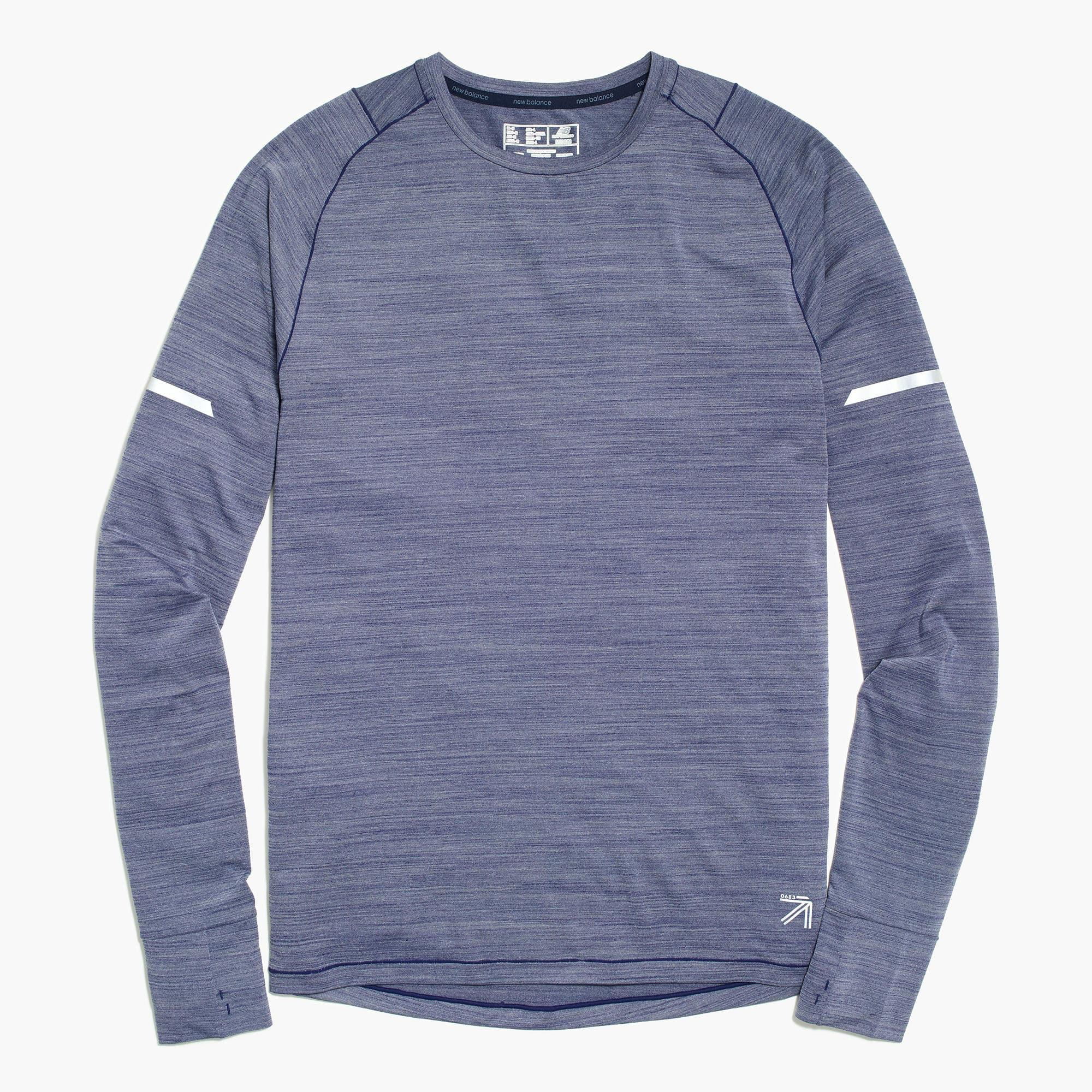 Lyst J Crew New Balance Long Sleeve Workout T Shirt In