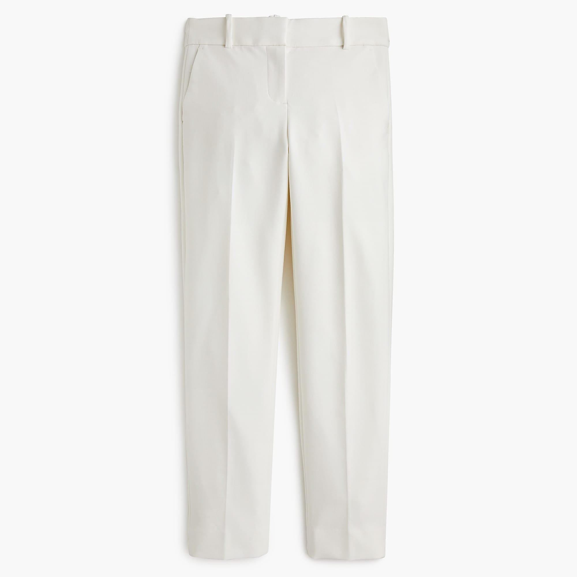 066949ee5a2 Lyst - J.Crew Cameron Slim Crop Pant In Four-season Stretch in White