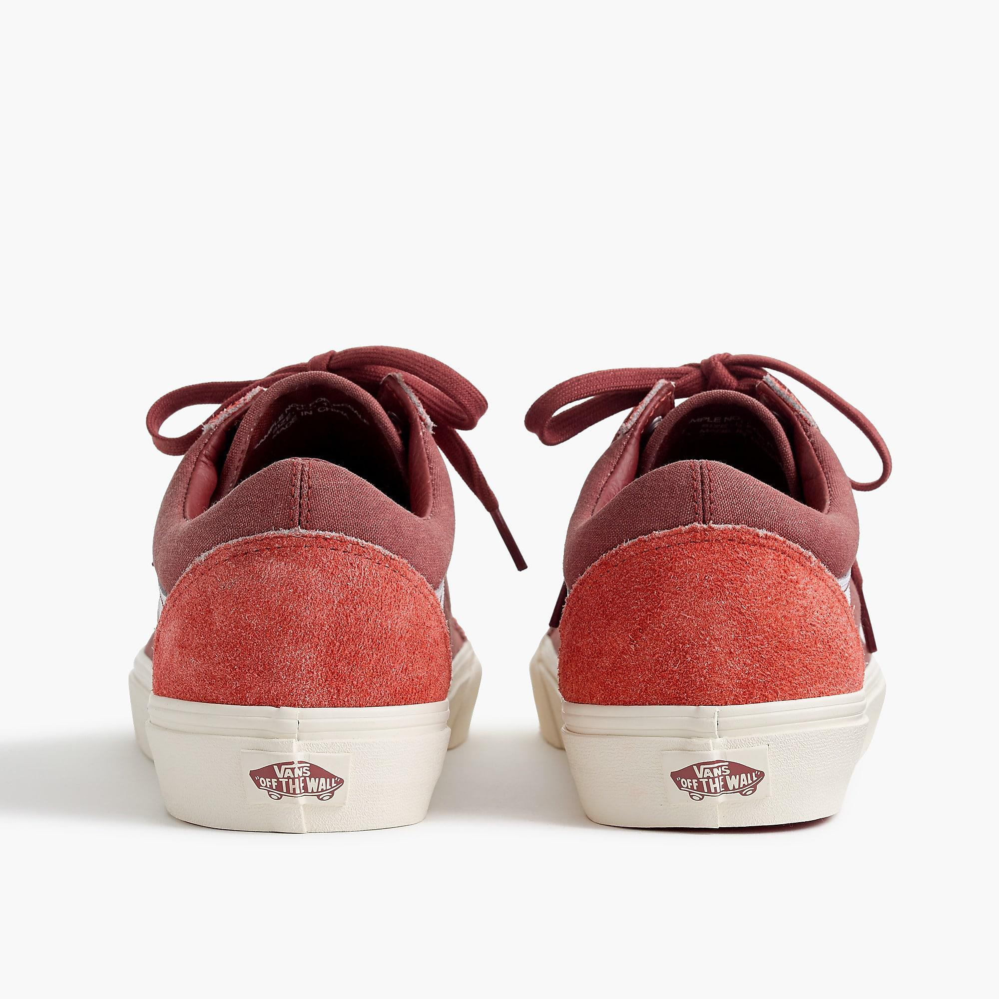 8a0f6b70c653 Lyst - Vans Old Skool Sneakers In Washed Canvas in Red for Men