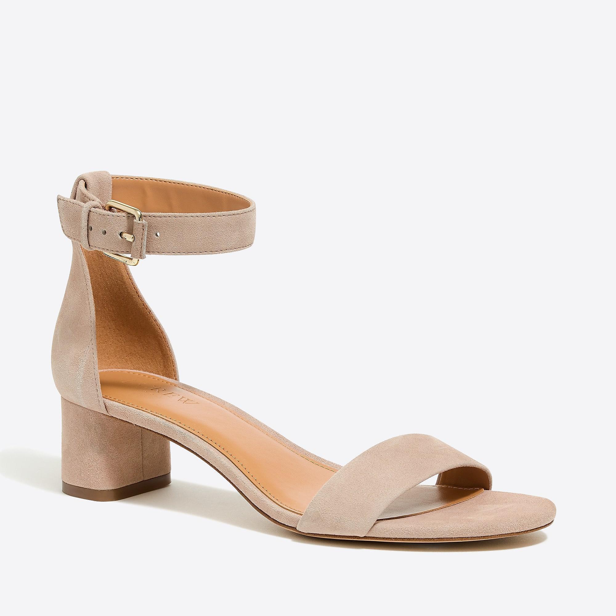 Somara Buckled Block Heel Sandals 6vdQP