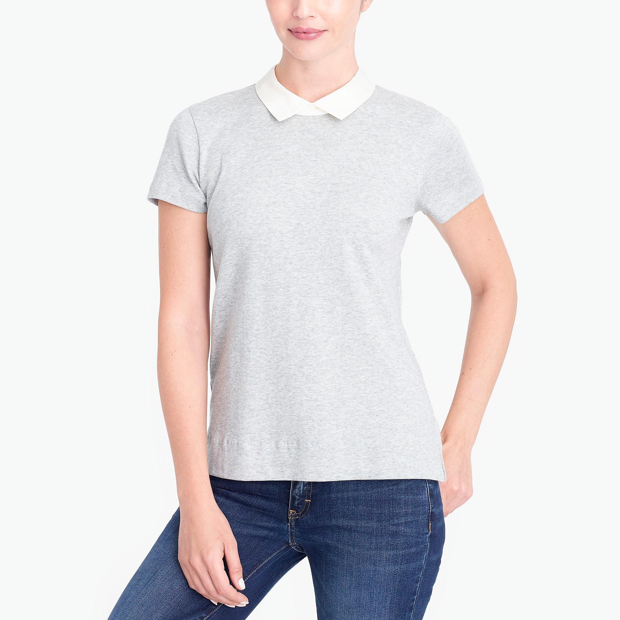 88c5c7703 White Peter Pan Collar T Shirt – EDGE Engineering and Consulting Limited