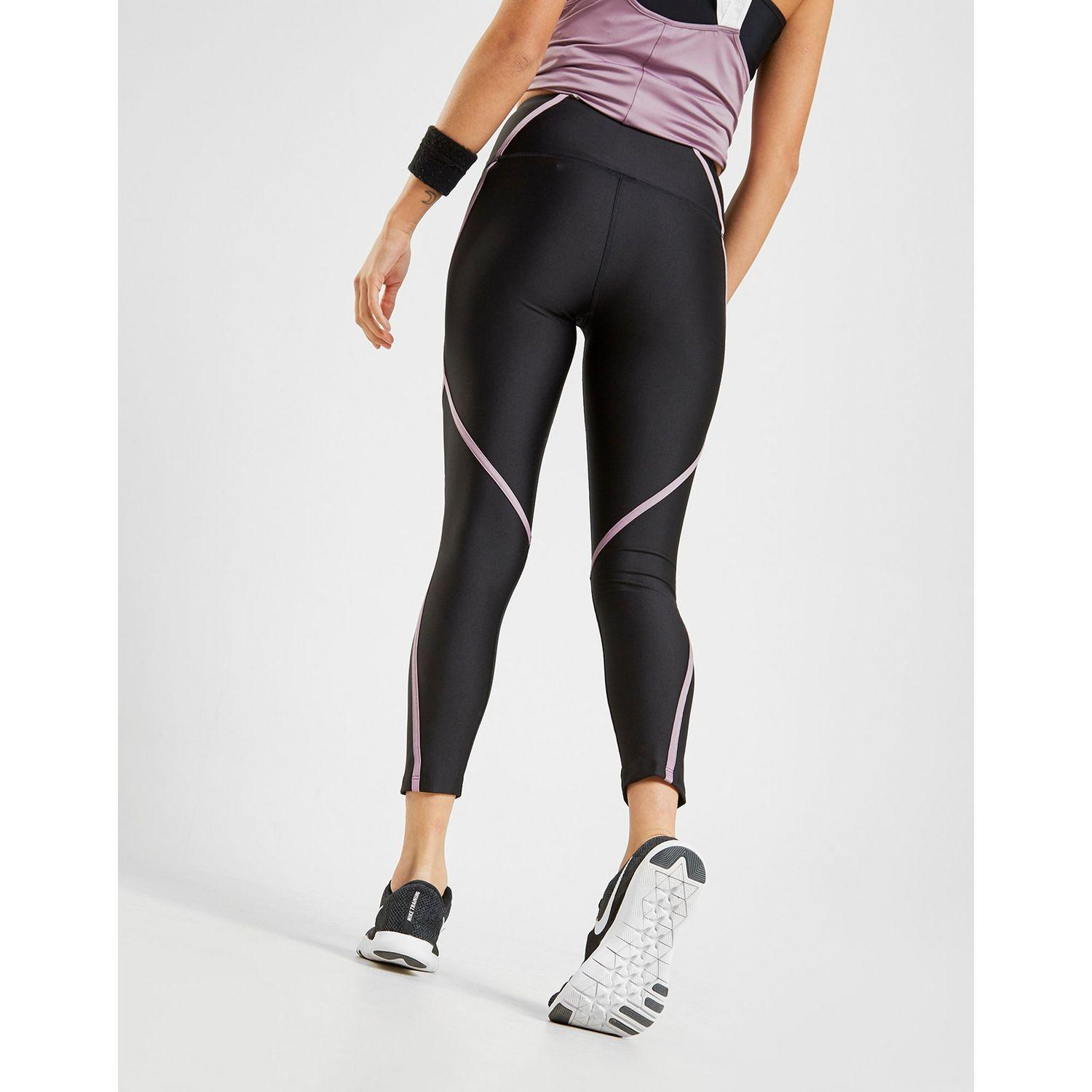 b2d02c11c2f3a4 Under Armour Piping Tights in Black - Lyst