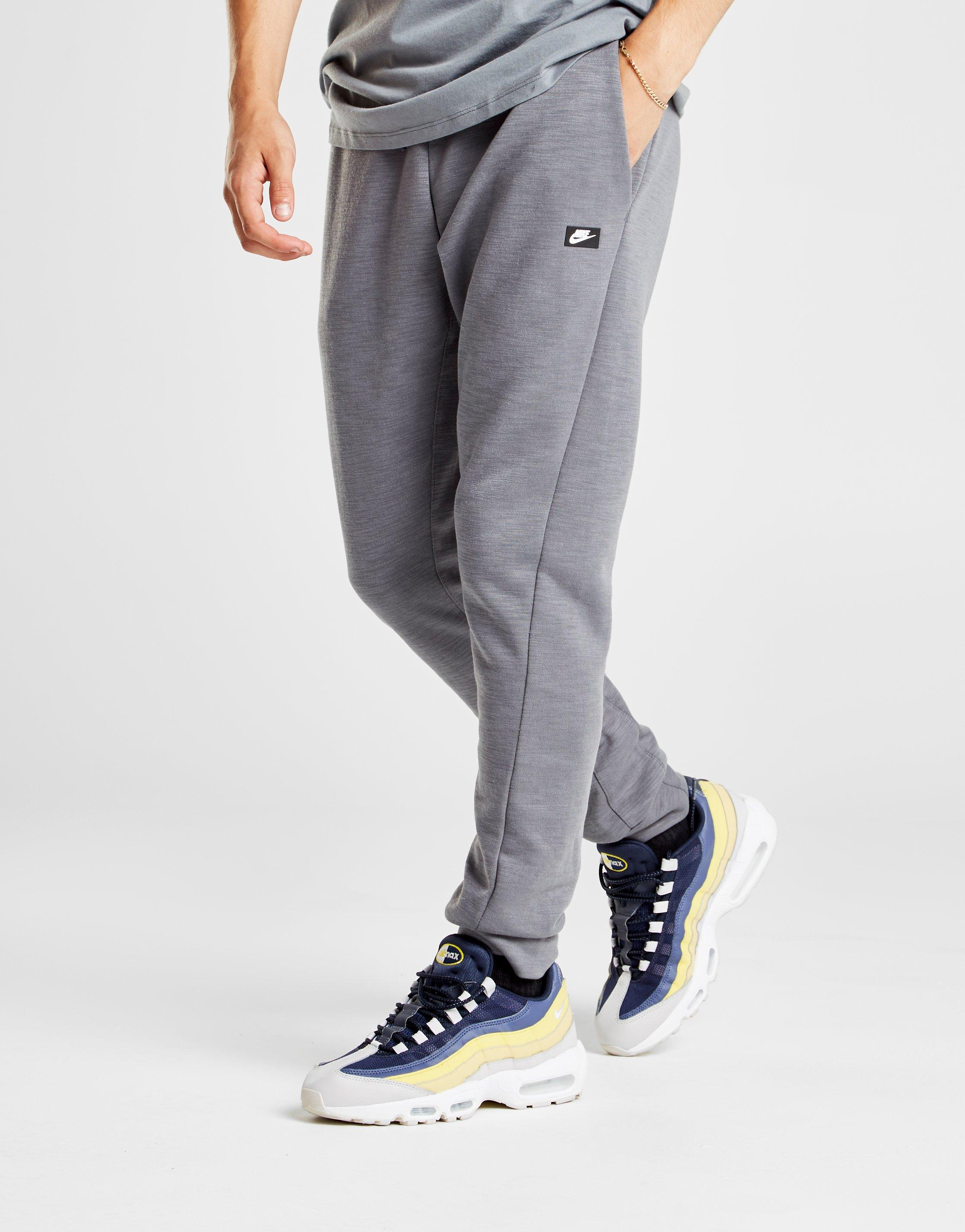 clear-cut texture performance sportswear fast color Nike Optic Fleece Pants in Black for Men - Lyst