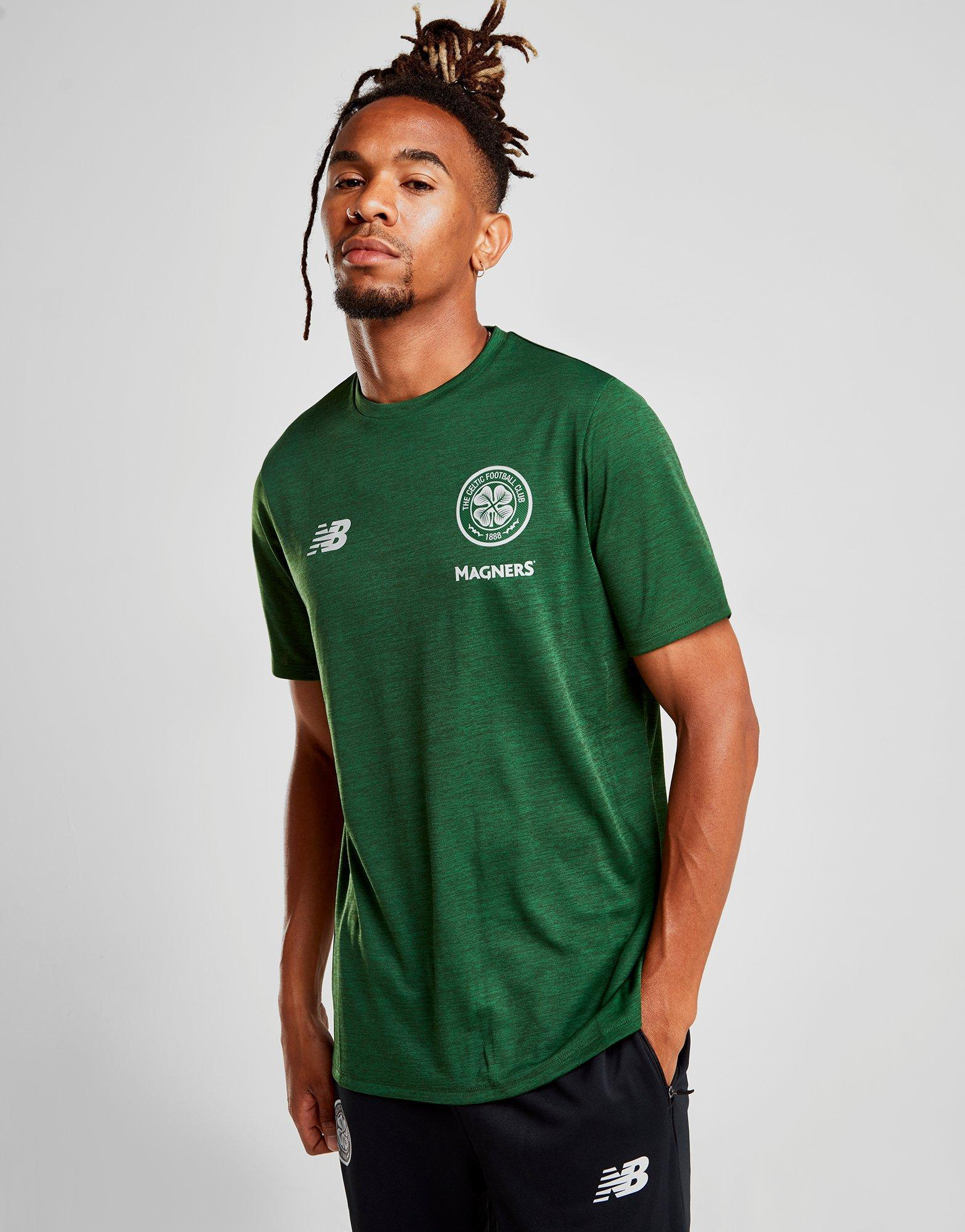 24a78b92fd9 New Balance Celtic Fc 2018/19 Leisure T-shirt in Green for Men - Lyst
