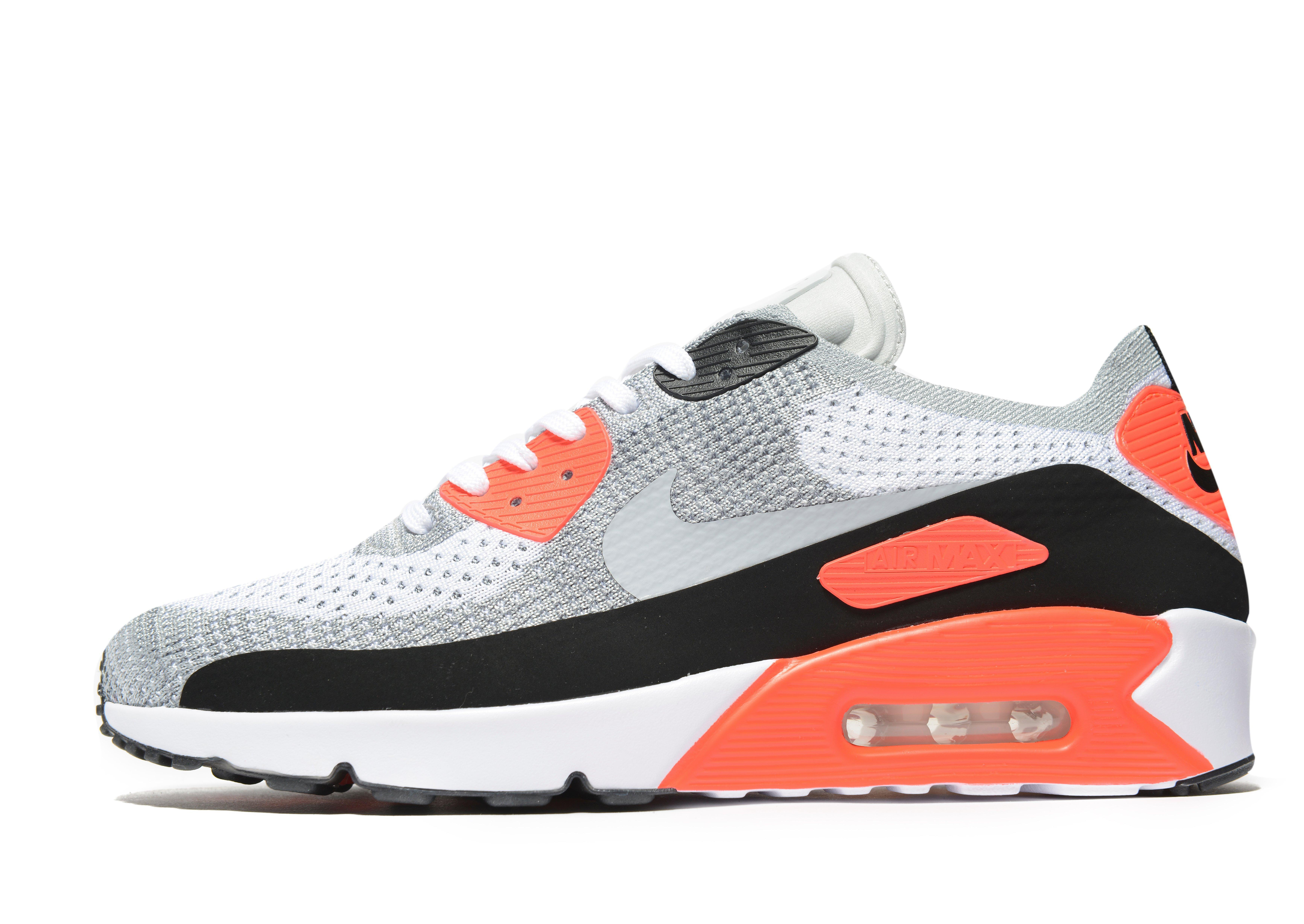 3a54ef498c02 Lyst - Nike Air Max 90 Ultra 2.0 Flyknit in White for Men