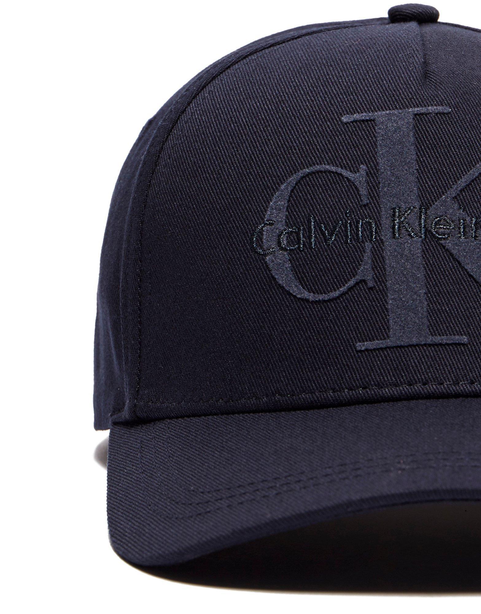 Lyst - Calvin Klein Jeans Reissue Cap in Blue for Men 726343bffac3
