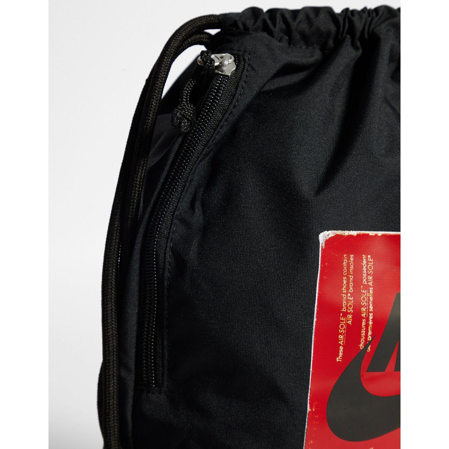 finest selection 5d829 1d659 Nike - Black Heritage Box Gymsack - Lyst. View fullscreen