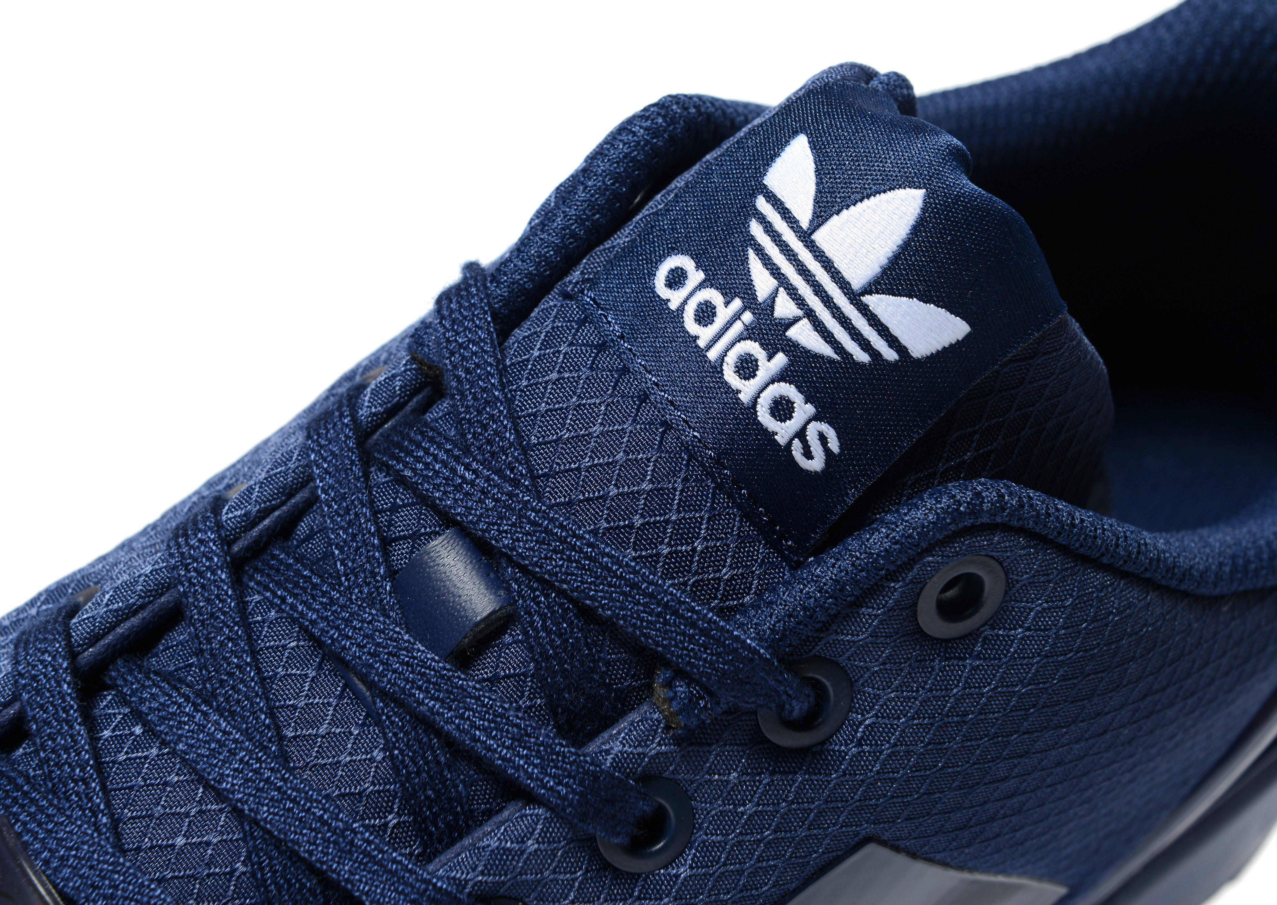 adidas originali zx flusso ripstop in blu per gli uomini lyst