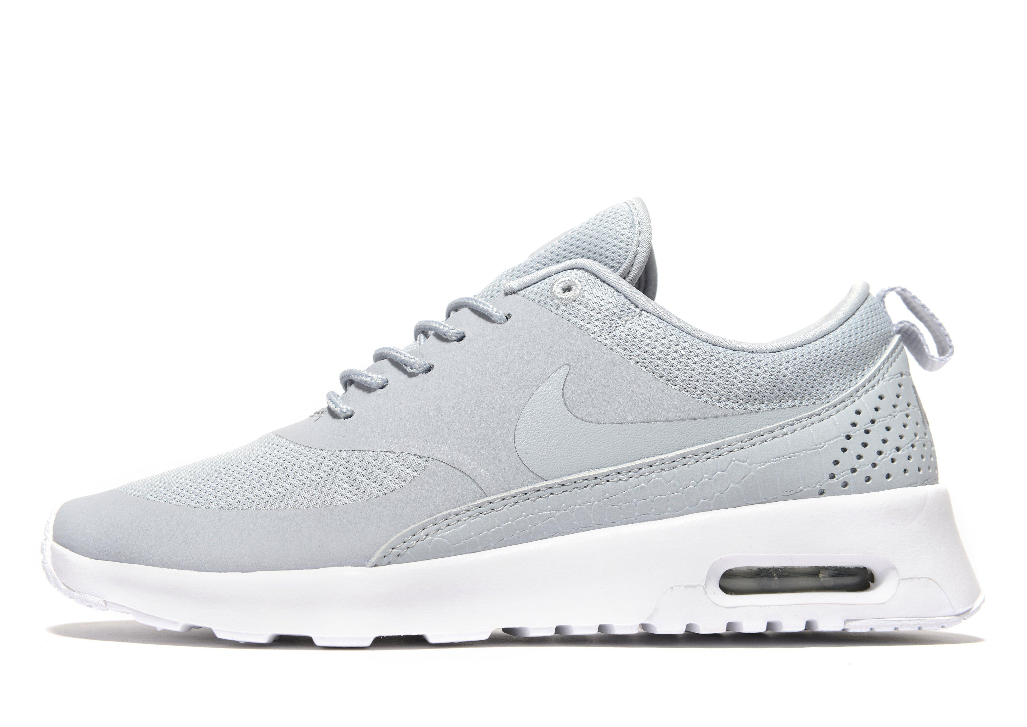nike air max thea essential in gray lyst. Black Bedroom Furniture Sets. Home Design Ideas