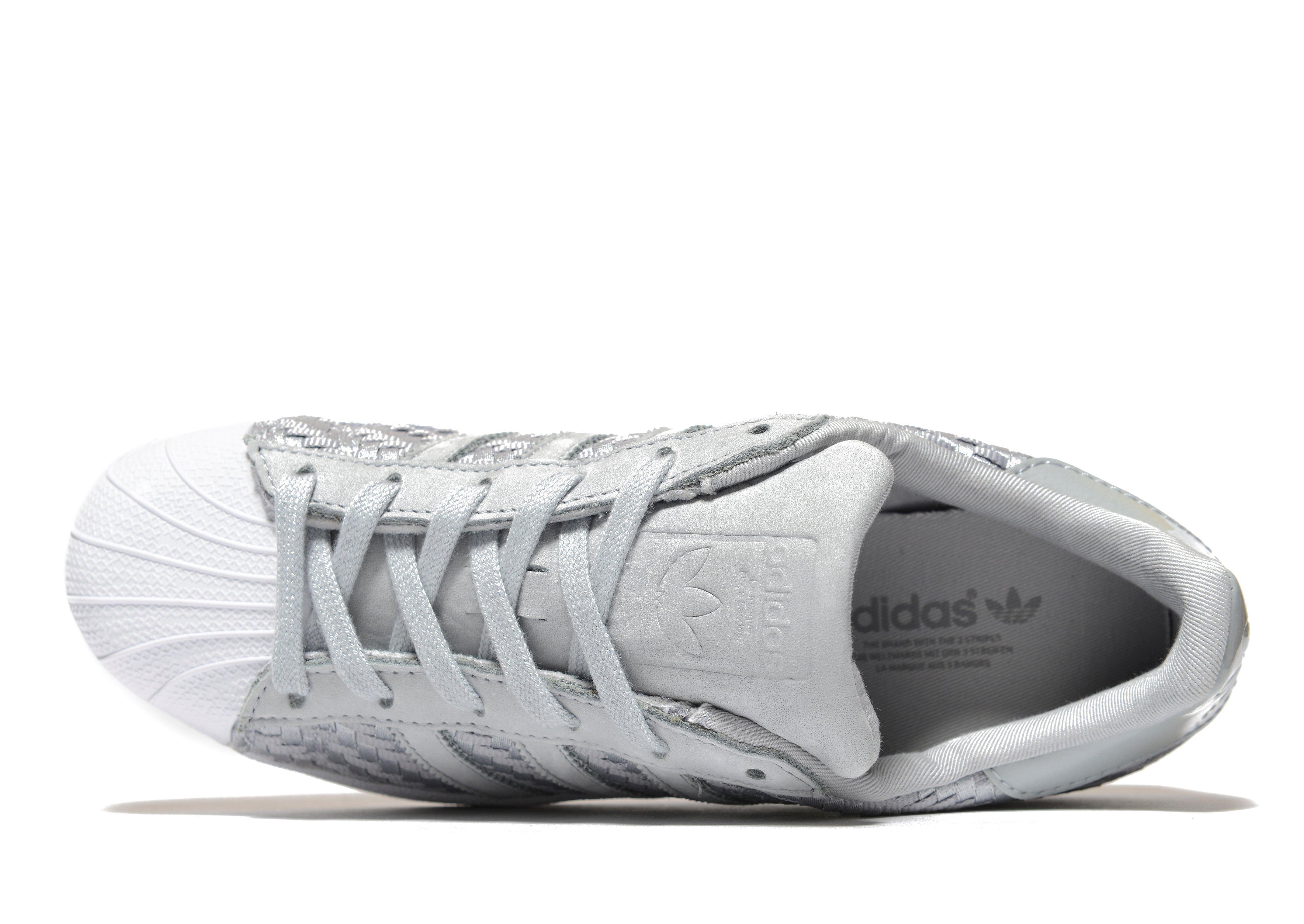 premium selection 84ca2 716b6 ... coupon code lyst adidas originals superstar woven in gray 18d32 42c04