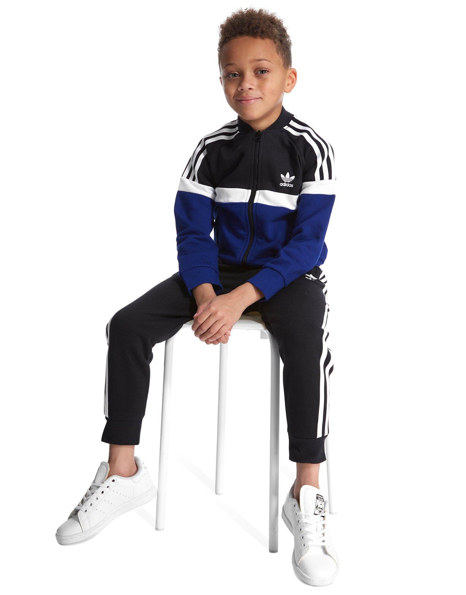 Lyst - adidas Originals Itasca Fleece Superstar Suit Children in ... c2556c0bcf