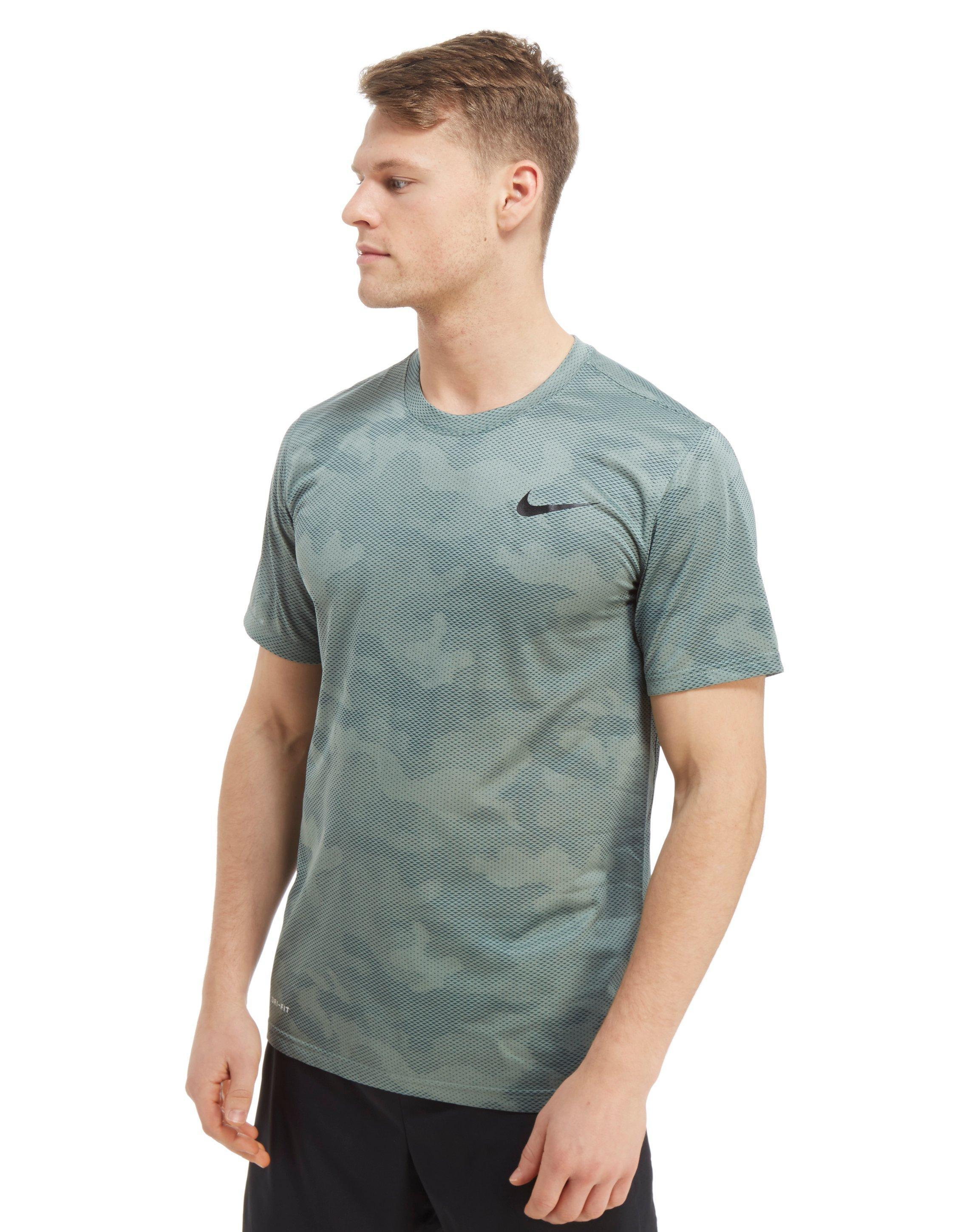 Shirt Nike Camo Green Print Men Dry Lyst For In T All Over Aq14BrwqY d85a4c827