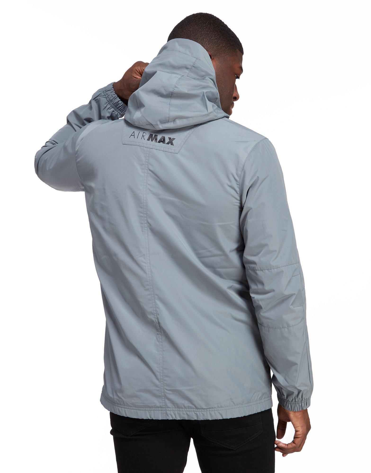 2013378443 Max Max Lyst Air In Nike Jacket Men Gray For Chevron Half Zip UrEr0x