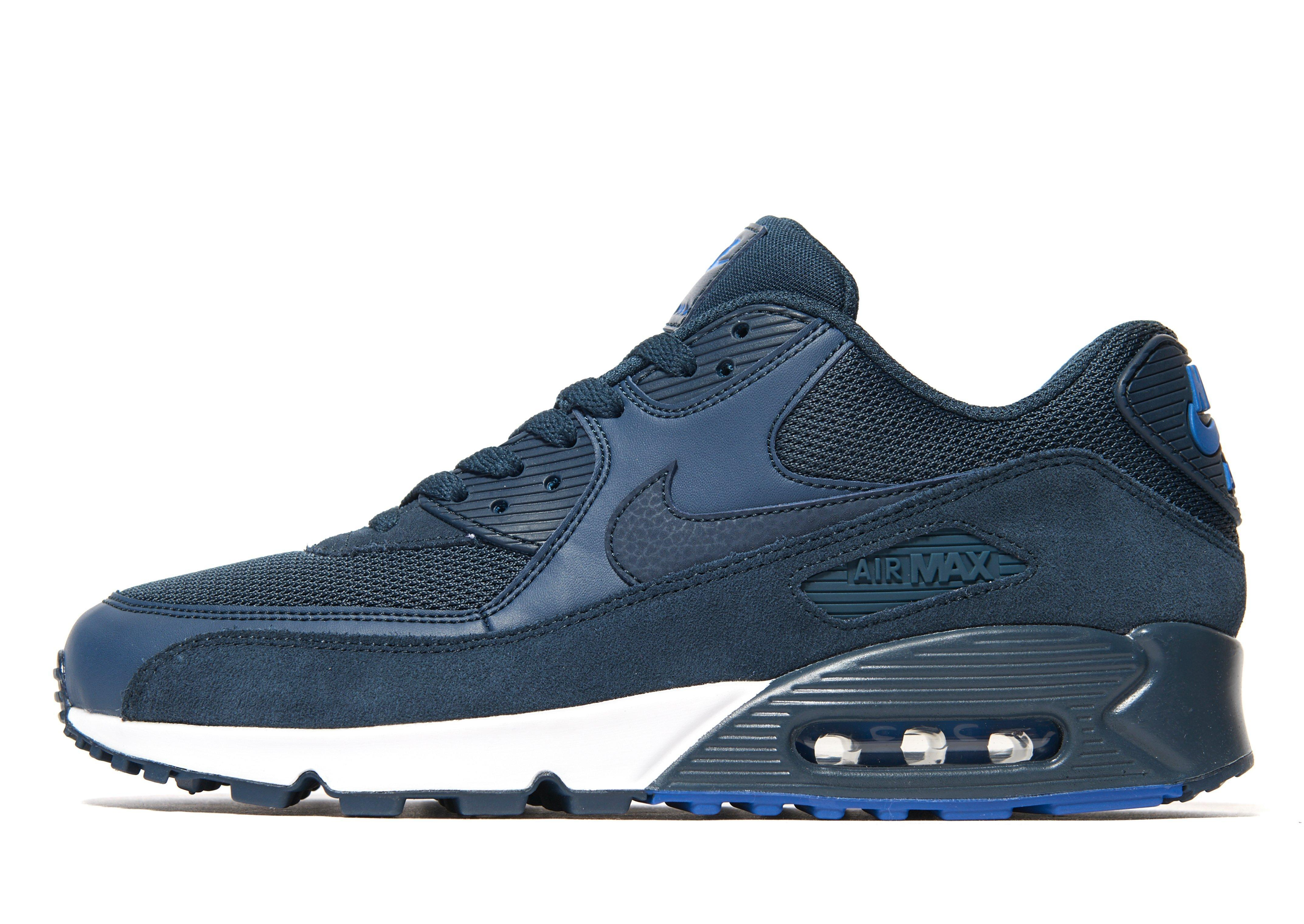 cheap for discount b33f7 46b30 ... cheap lyst nike air max 90 army trainers in blue for men 7127f 7f533
